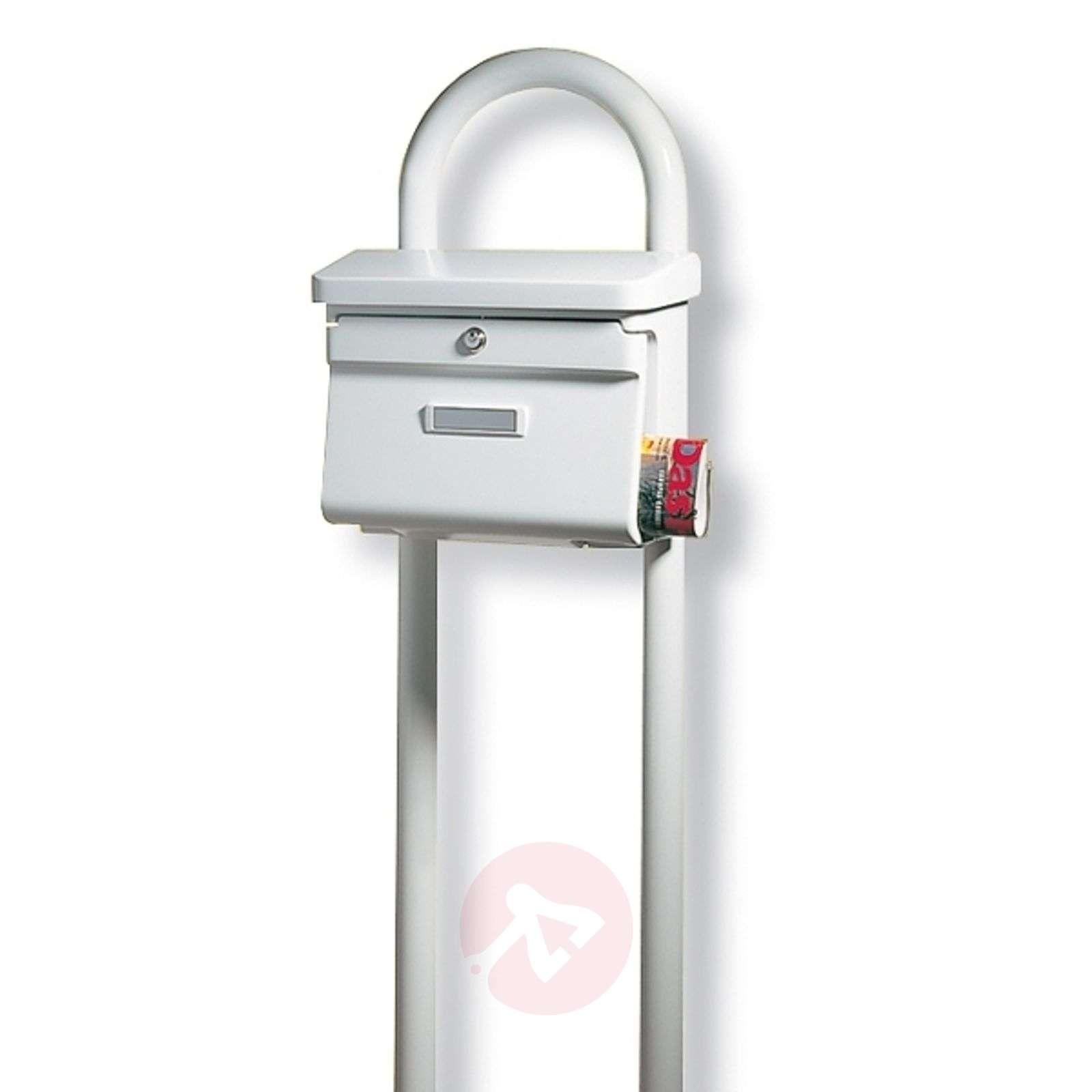 Rondo-postilaatikkopylväs, valkoinen-1532120-01