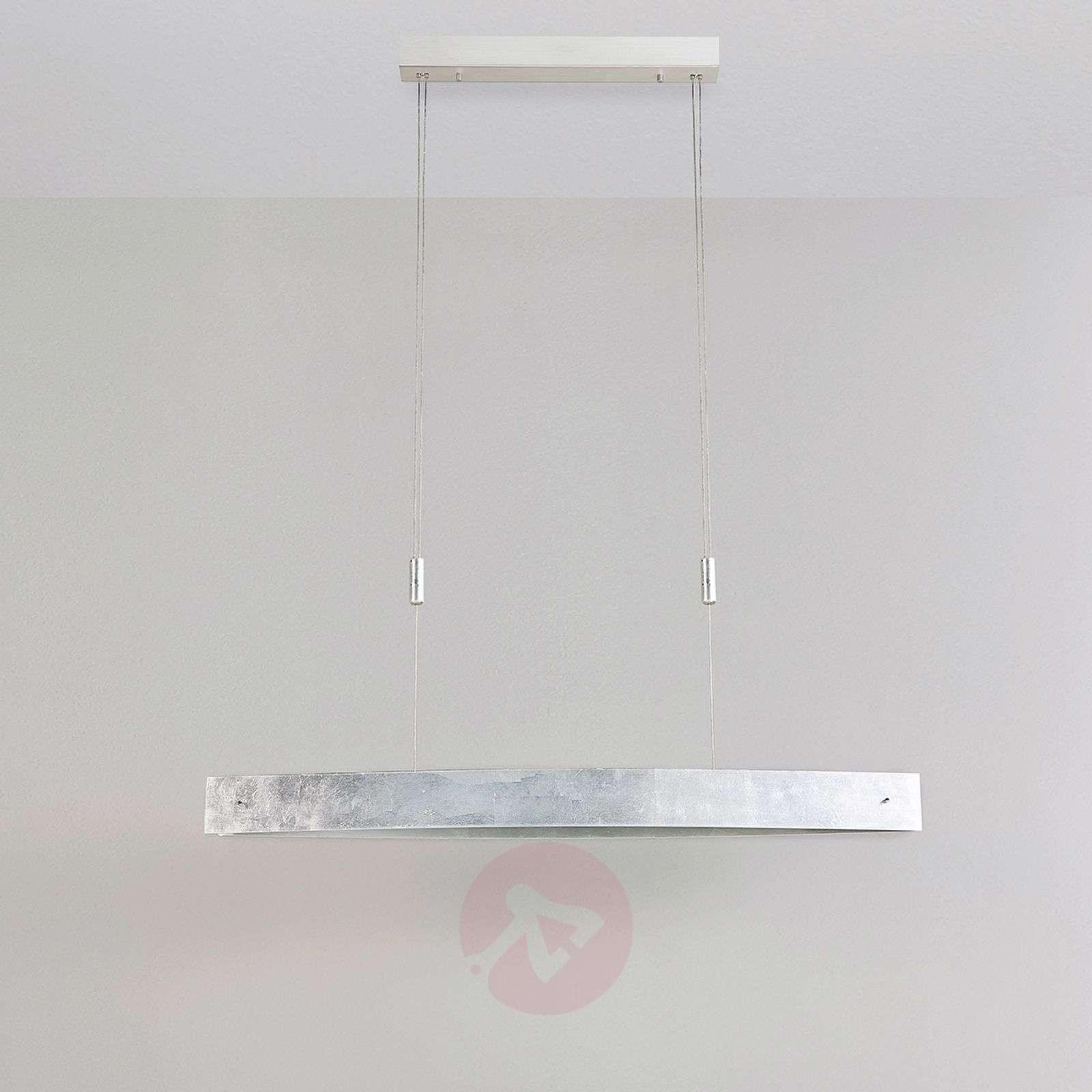 Ruokailuhuoneen LED-riippuvalaisin Lio, hopeafolio-9620863-02