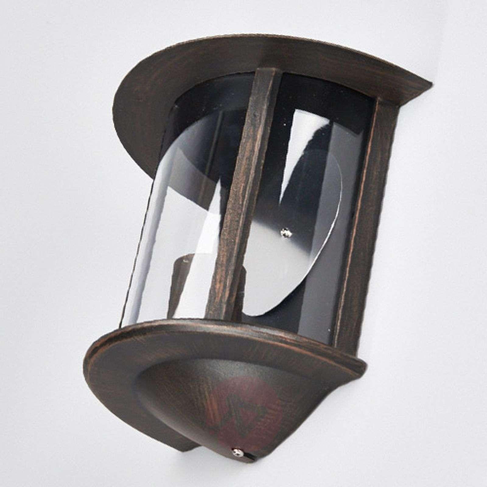Ruosteenruskea LED-ulkoseinävalaisin Maelis-9630029-011