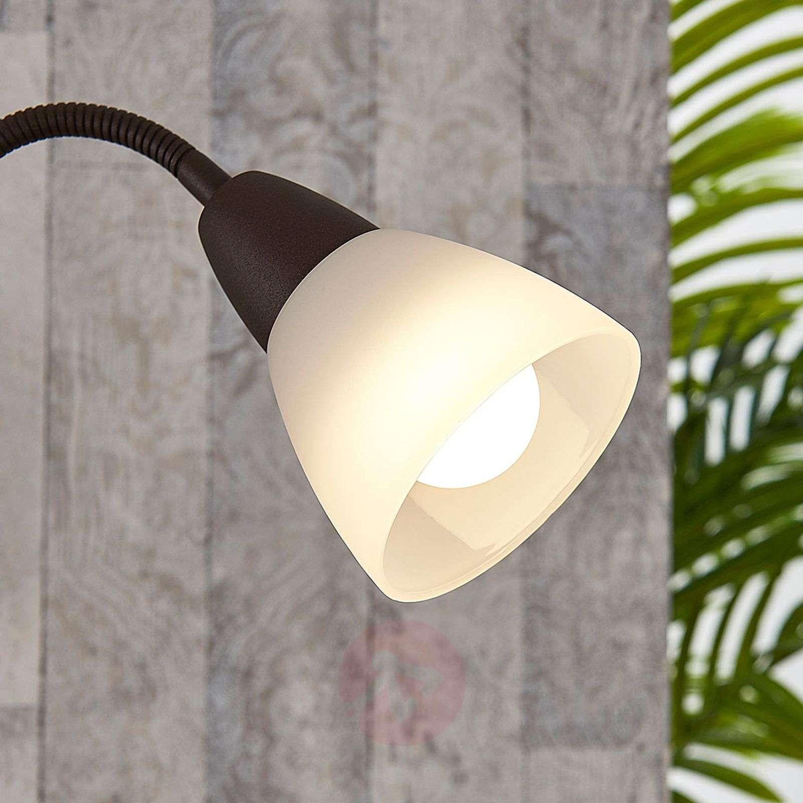 Ruosteenvärinen, LED-lattiavalaisin lisälukuvalo-9621316-02