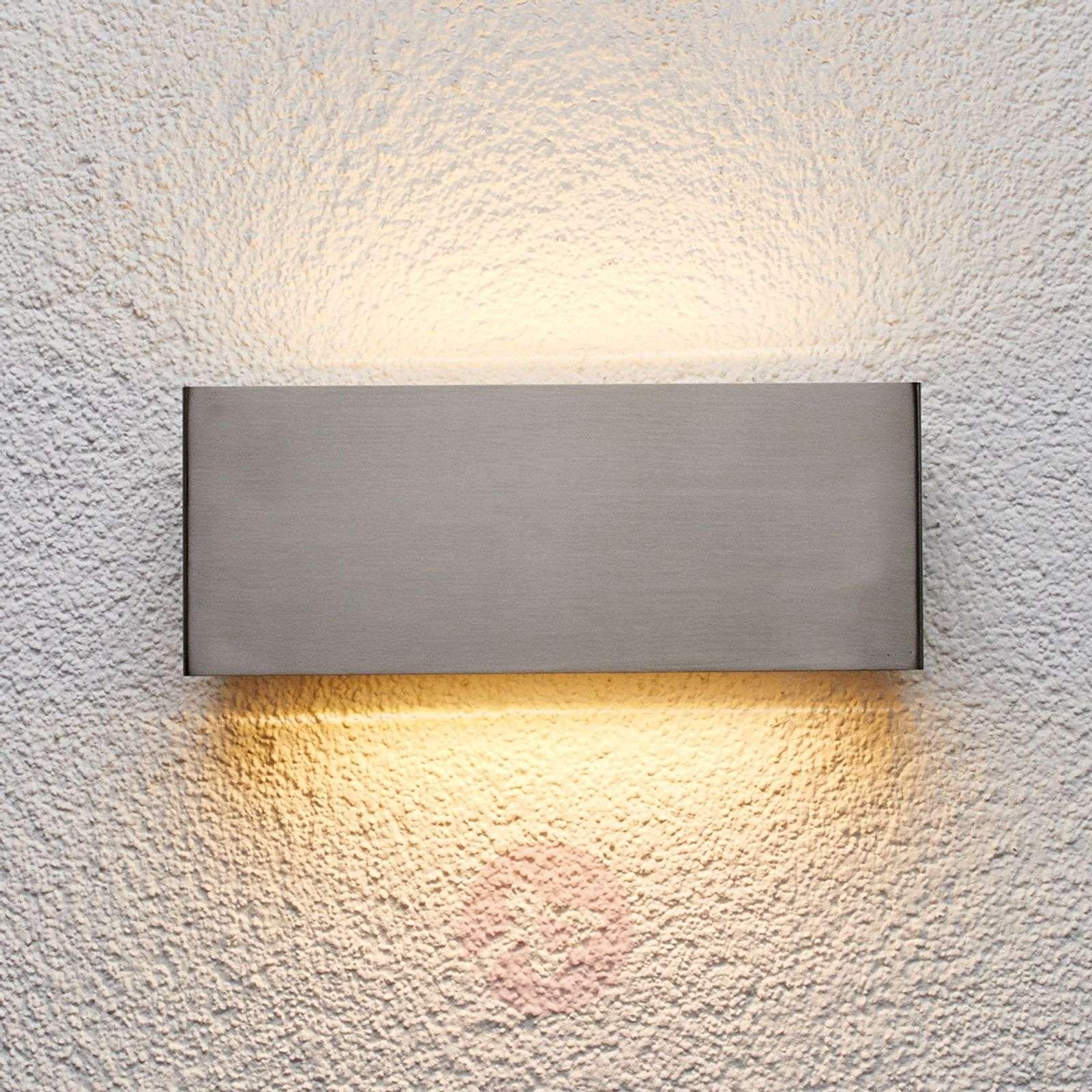 Ruostumaton LED-ulkoseinävalaisin Safira-9630038-01