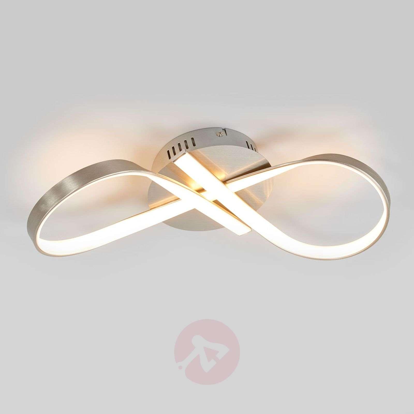 Rusetin muotoinen Alana-LED-kattovalaisin-9985072-02