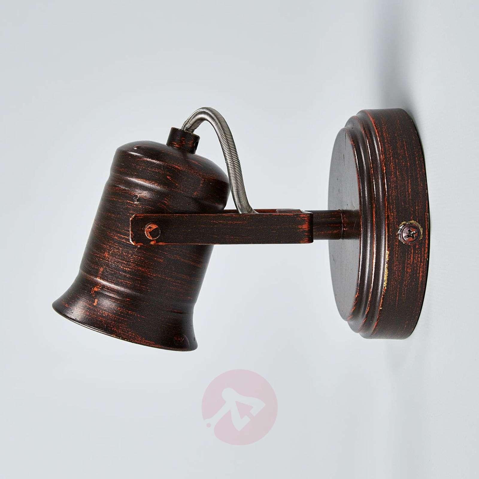 Ruskea-kultainen Cansu-spottivalo, GU10-LED-9639072-01