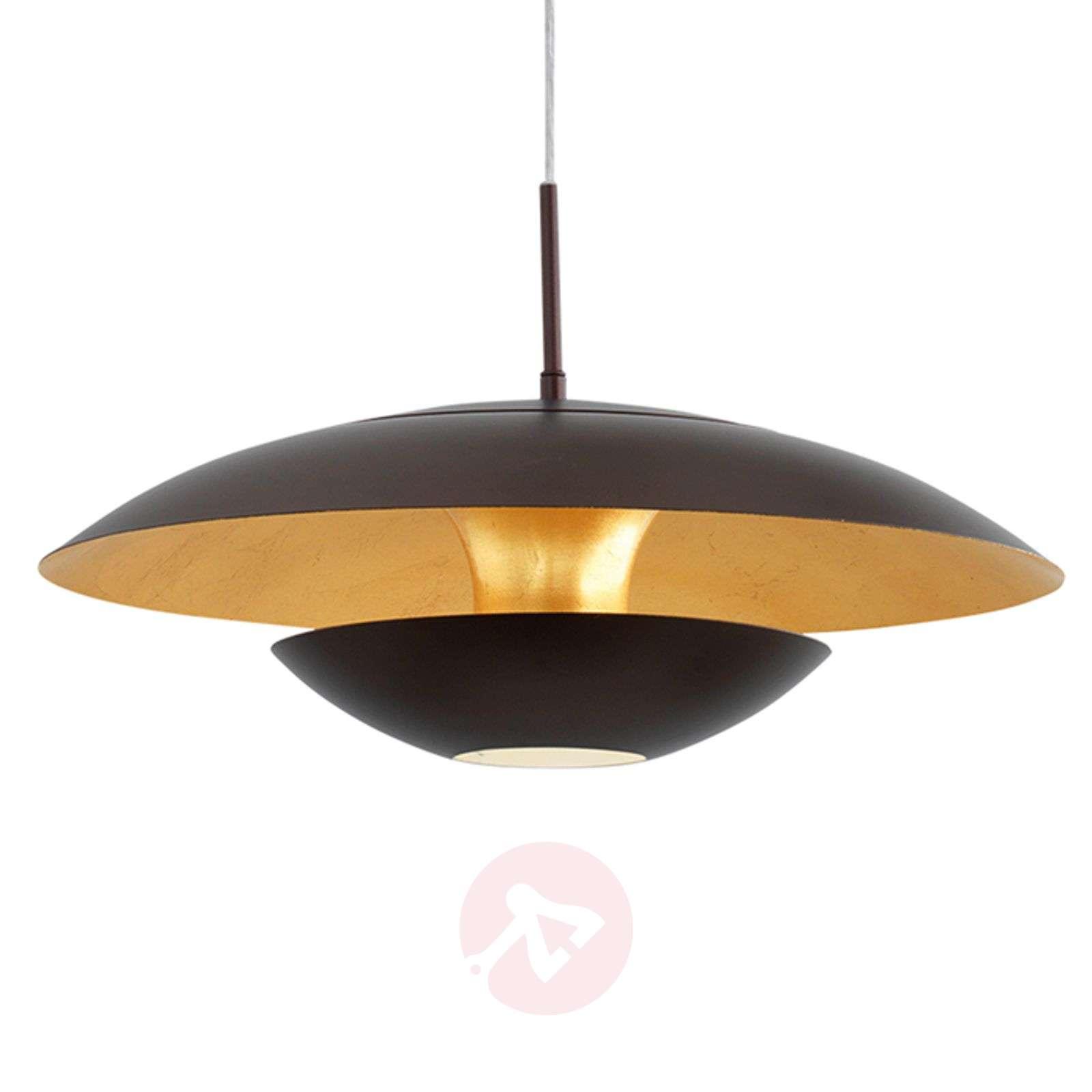 Ruskean ja kullan värinen Nuvano-riippuvalaisin-3031942-01