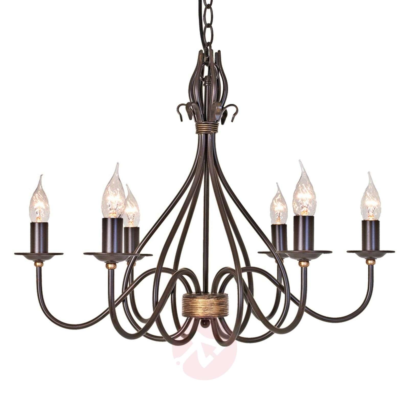 Rustiikkinen WINDERMERE-riippuvalaisin, 6 lamppua-3048043-01