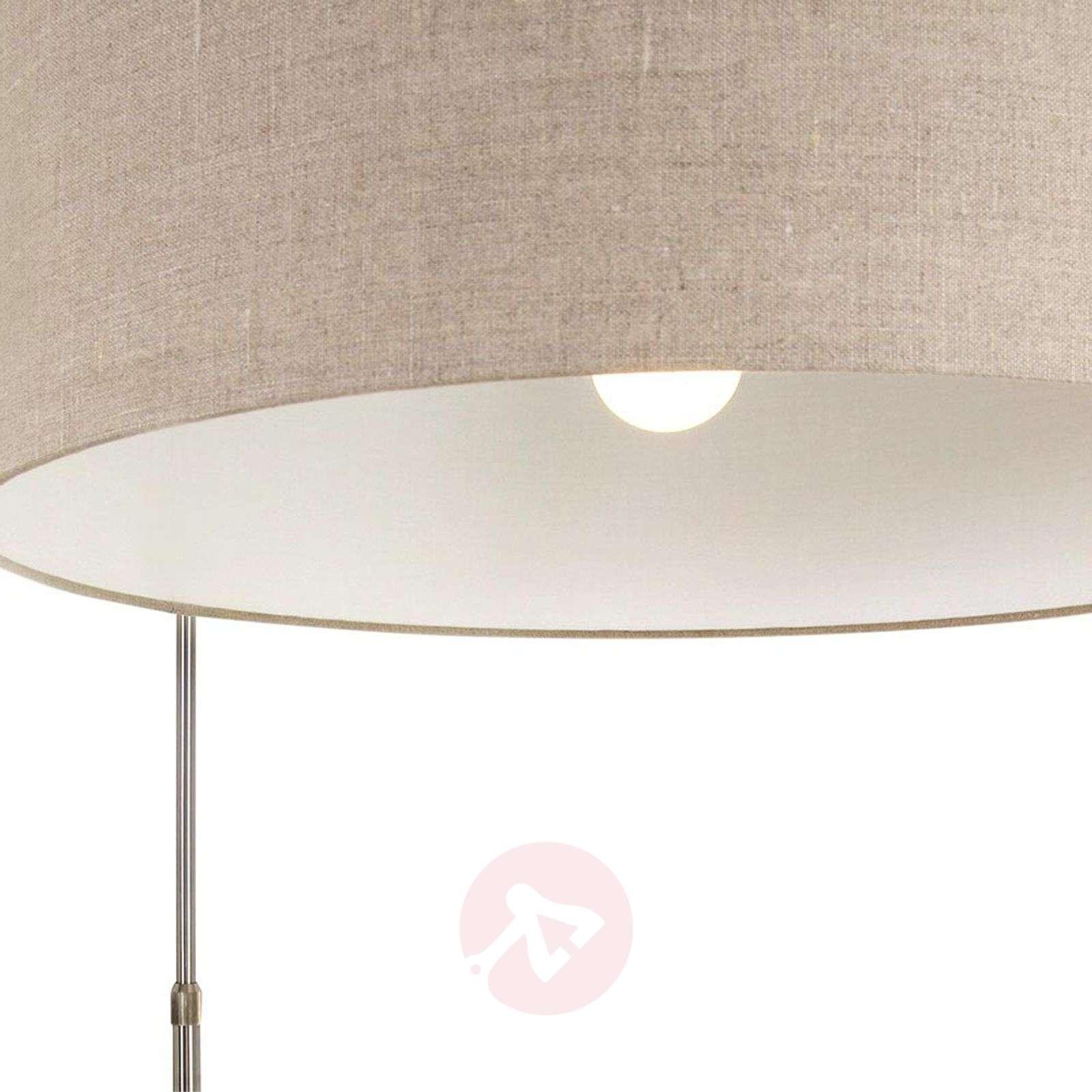 Säädettävä Gramineus-kaarilamppu, kangasvarjostin-8509757-01