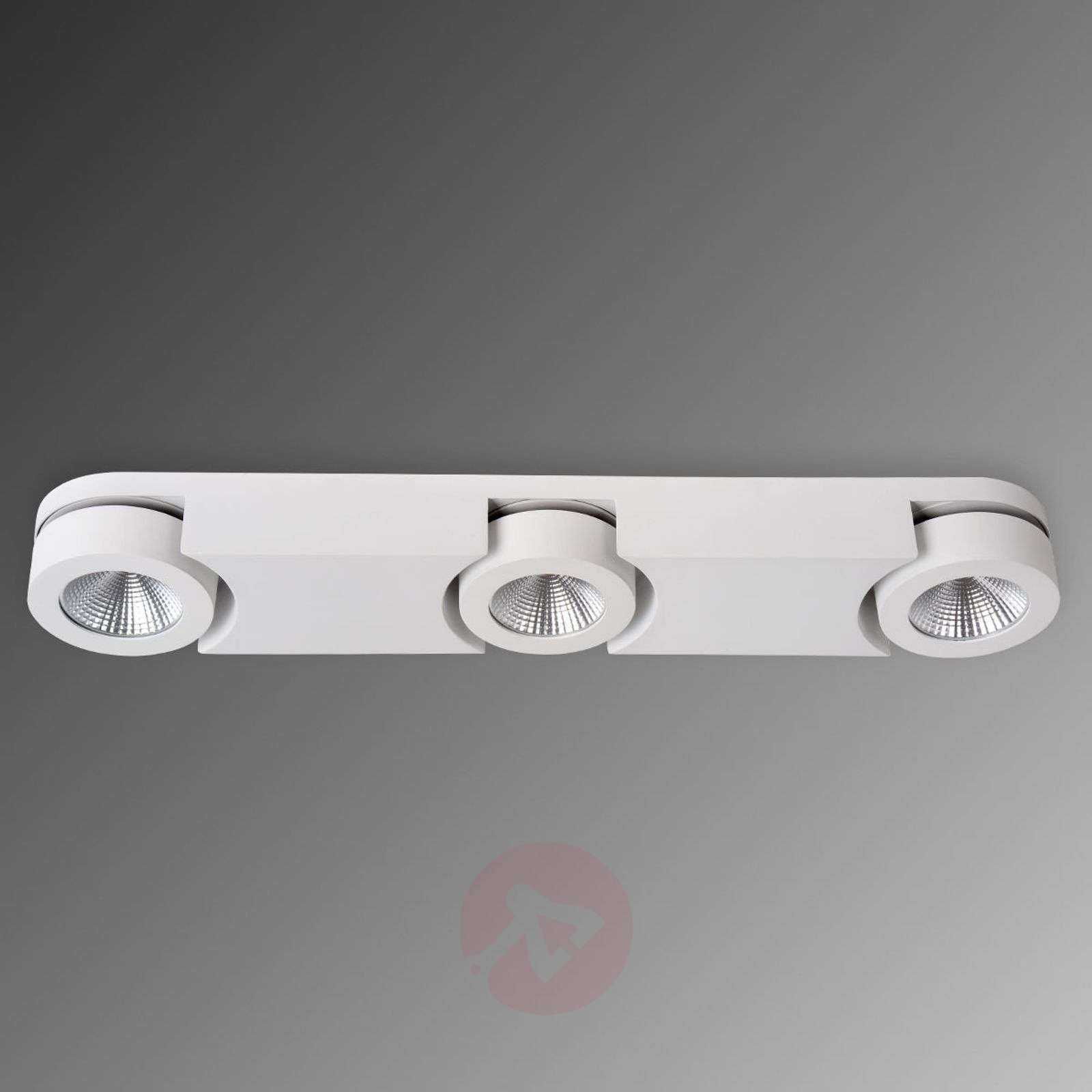 Säädettävä LED-kattokohdevalo Mitrax 3-lamppuinen-6055089-01