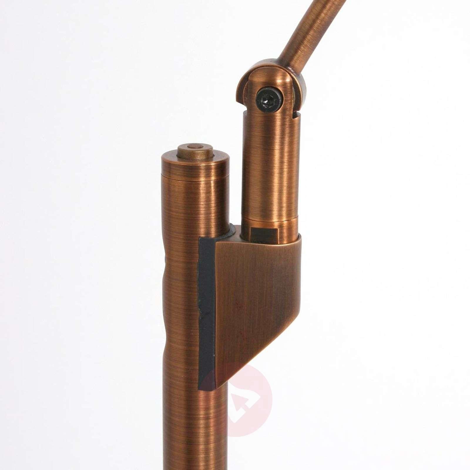 Säädettävä LED-lattiavalaisin Zenith, pronssi-8509715-01