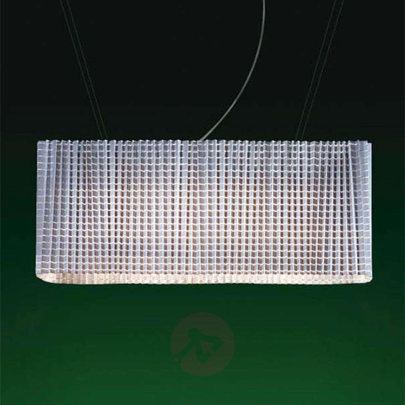 Säädettävä Plissé-design-riippuvalaisin, valkoinen-6030127-01