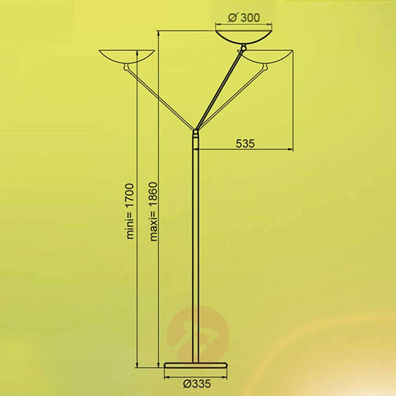 Säädettävä ylöspäin suunnattu valaisin Libert 4-1065011X-02
