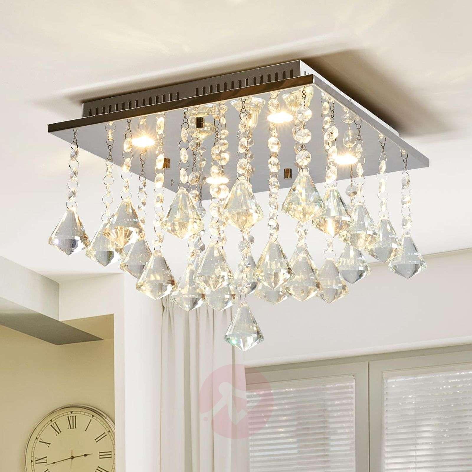 Säihkyvä LED-kattolamppu Fanni-9953001-03