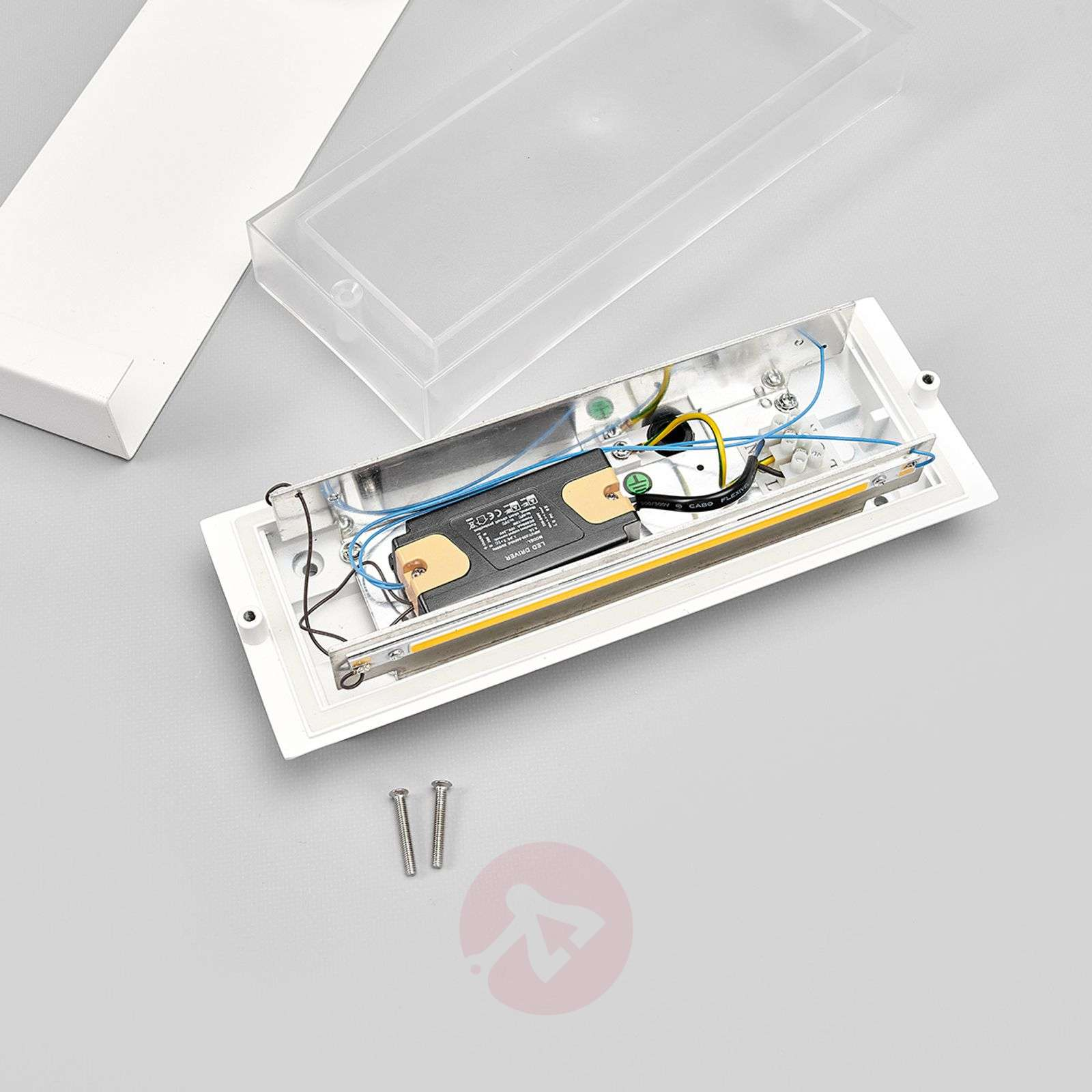 Safira LED-ulkoseinävalaisin valkoisena-9630039-01