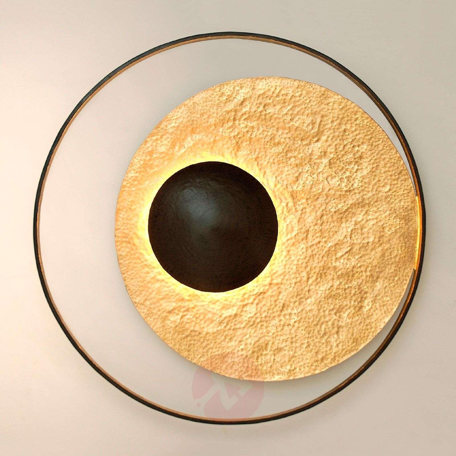 Satellite-seinävalaisin, kullanruskea, Ø 90 cm-4512438-01