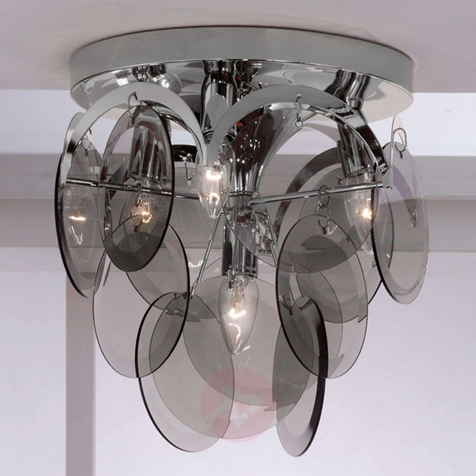 Savulasiriipus – kattovalaisin Carolo, 4-lampp.-7254813-01
