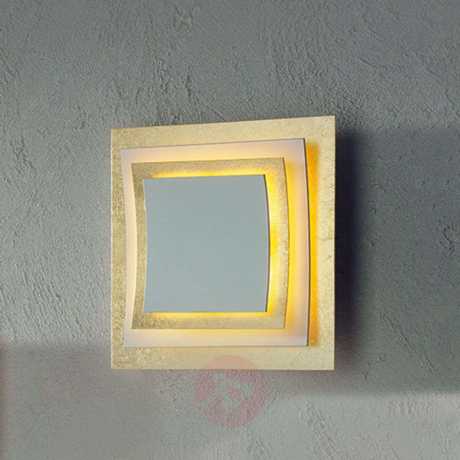 Seinä ja kattovalaisin Pages lehtikultaus 22 cm-3051044-01