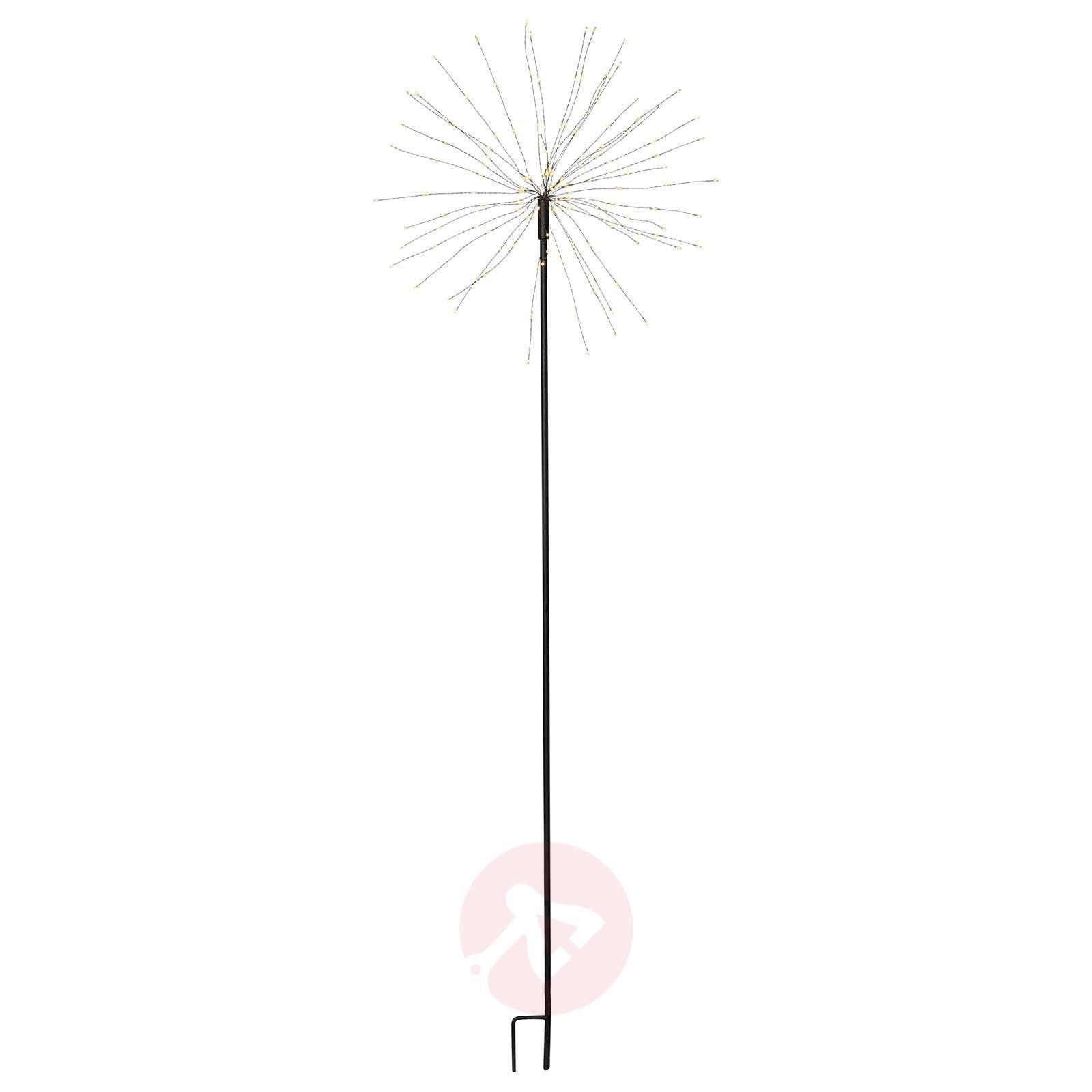 Seisova LED-tähti Firework Outdoor, lämmin valk.-1523762-01