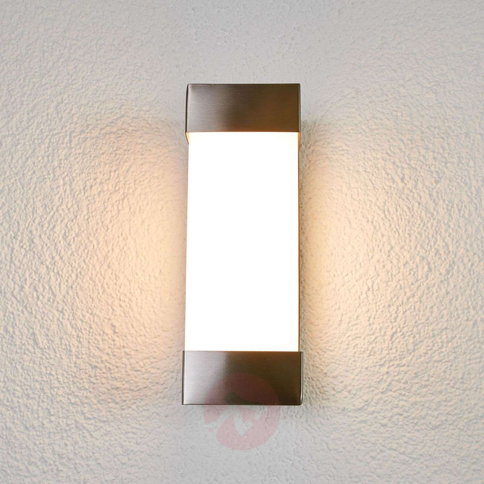 Severina – LED-seinälamppu, ruostumaton teräs-9977039-01