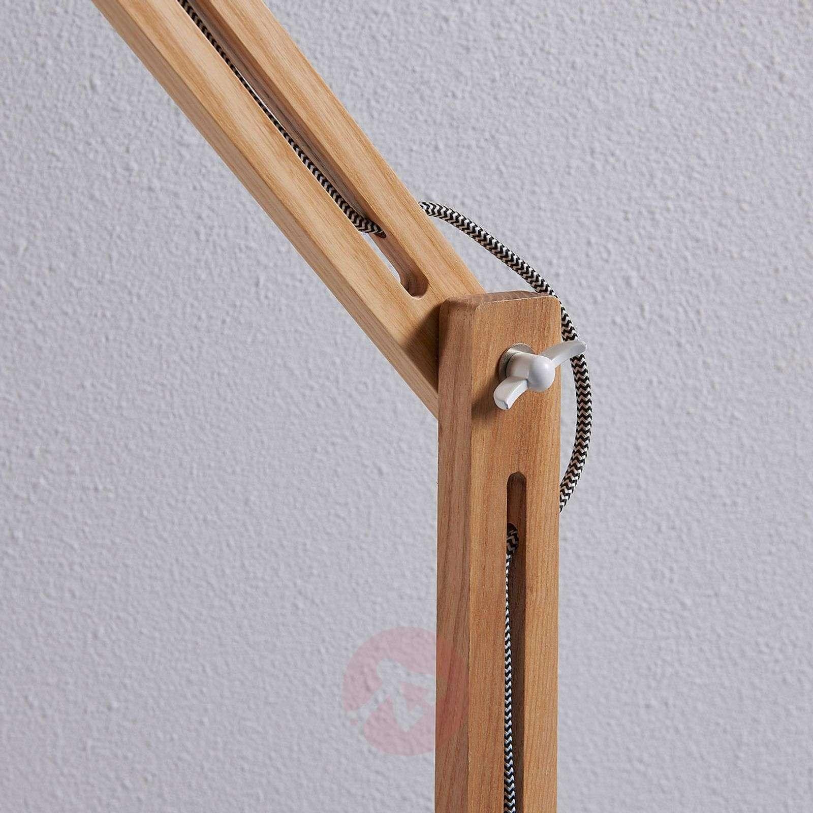 Shivanja – siirrettävä lattiavalaisin, puu/metalli-9621152-02