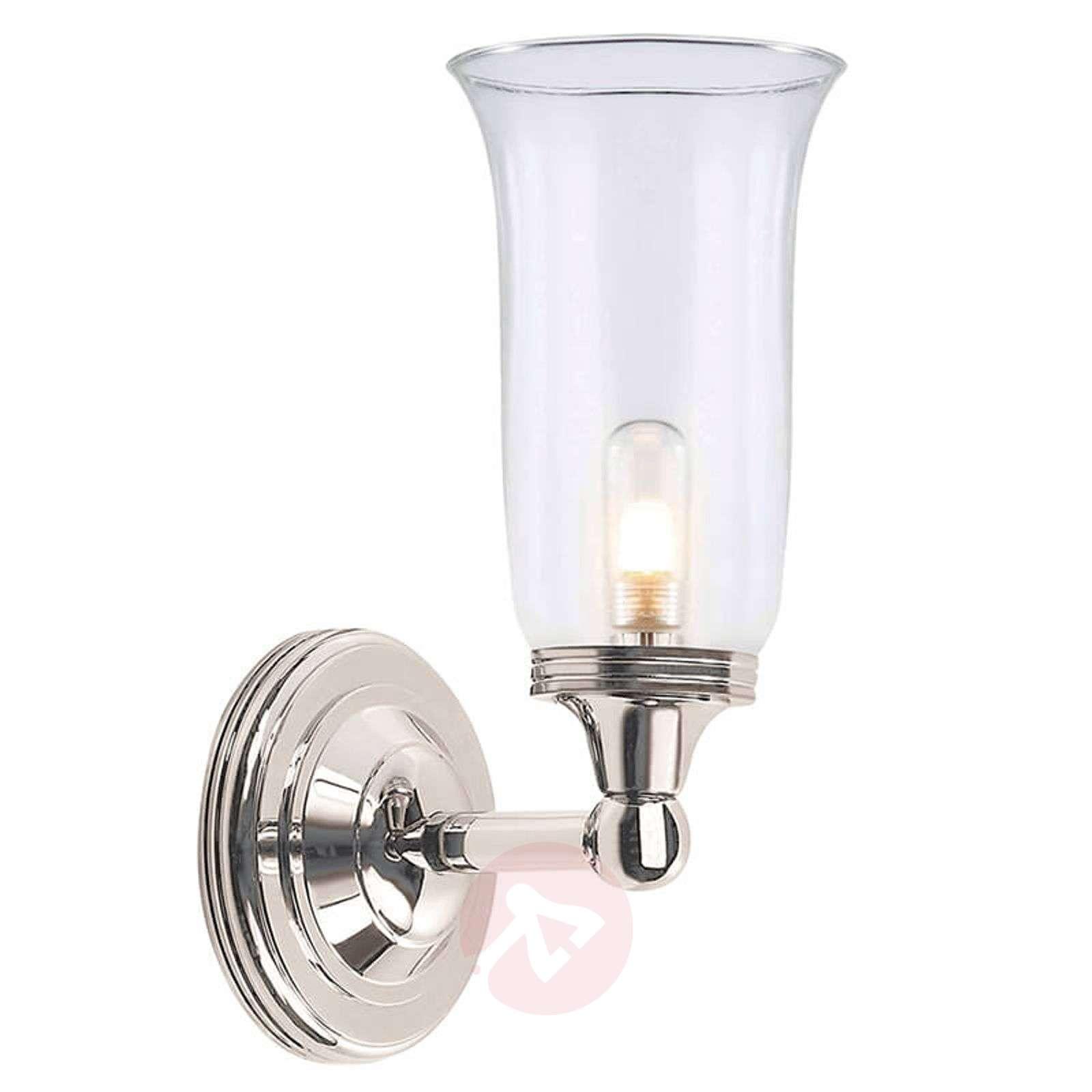 Sileä lasi – Austen 2-kylpyhuonevalaisin, nikkeli-3048660-01