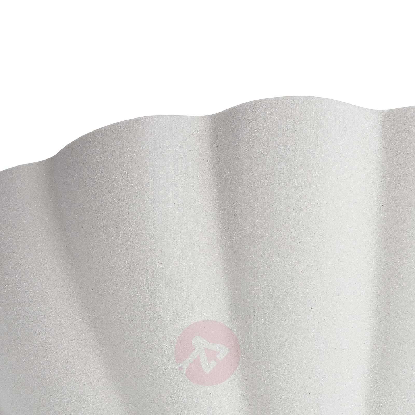 Simpukan muotoinen seinävalaisin Elsa-3046213-01