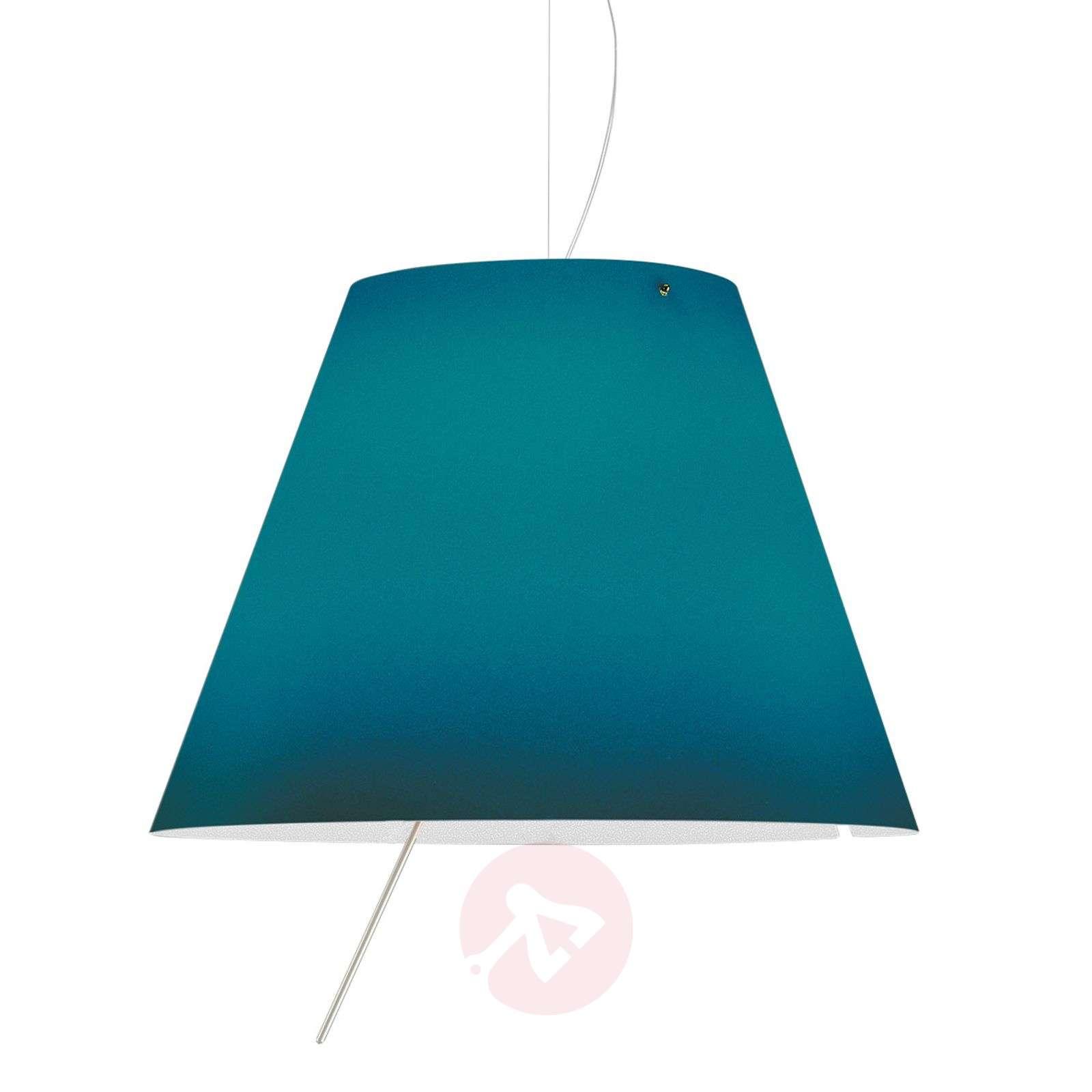 Sininen LED-riippuvalaisin Costanza, korkeussäätö-6030158-01