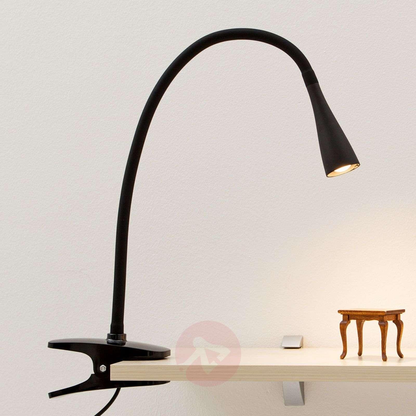 Siro Baris-klipsivalaisin LED musta-9643005-01