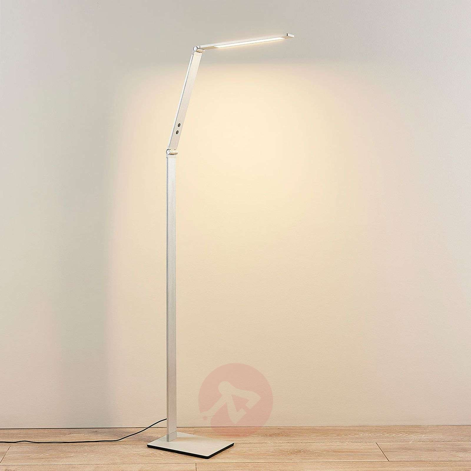 Siro LED-lukuvalaisin Nicano, säädettävä valoväri-9621660-04