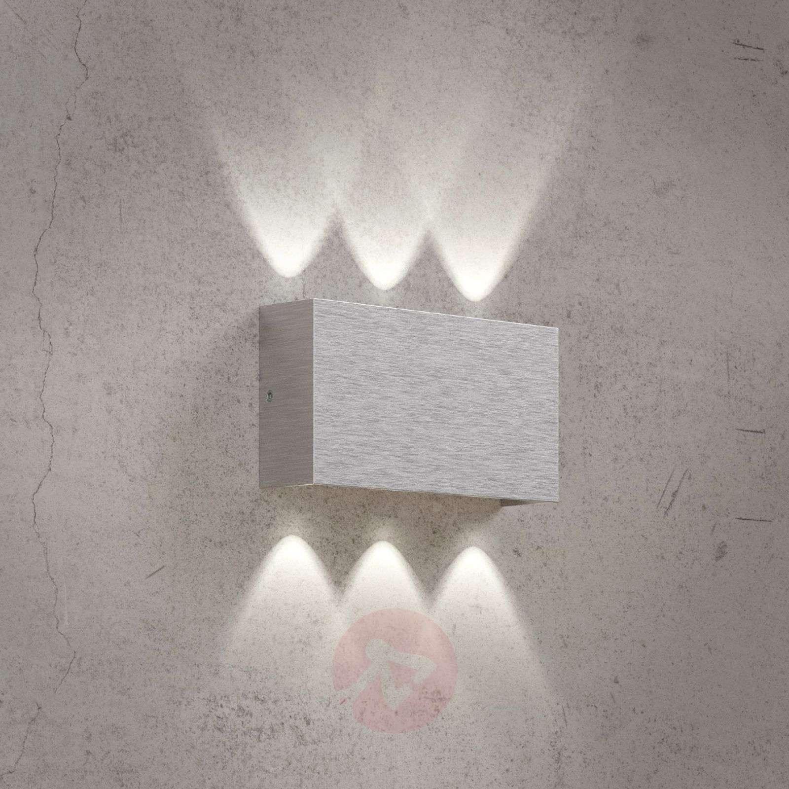 Sisä ja ulkotilojen Stream-LED-seinävalo alumiini-1554051-01