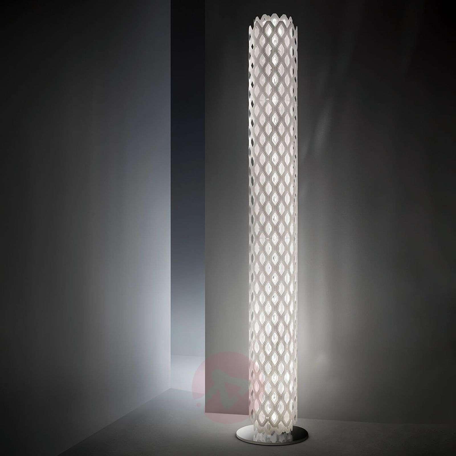 Slamp Charlotte design-lattiavalaisin, valkoinen-8503321-01