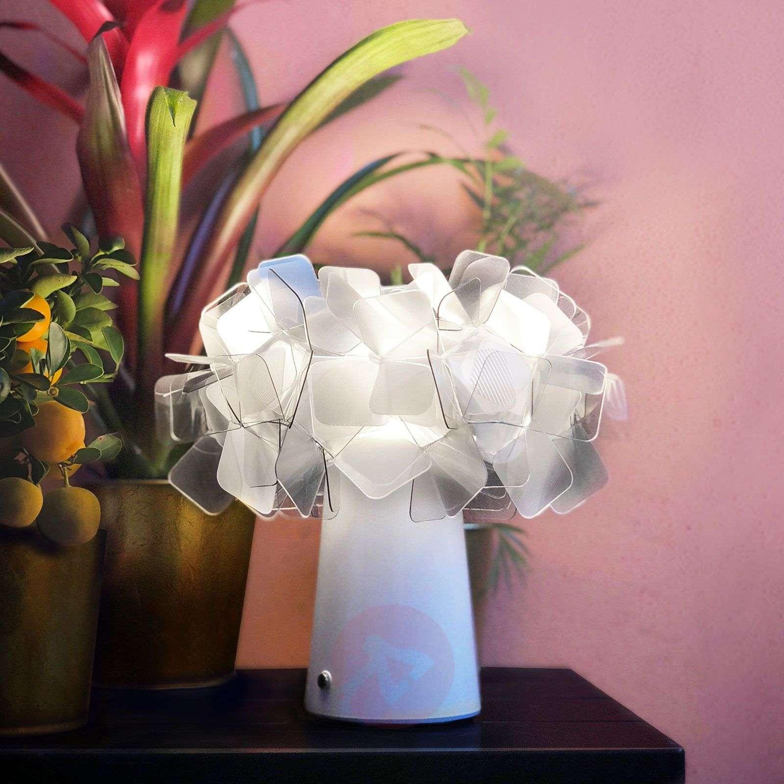 Slamp Clizia LED-pöytävalaisin, akku, fumé-8503416-01