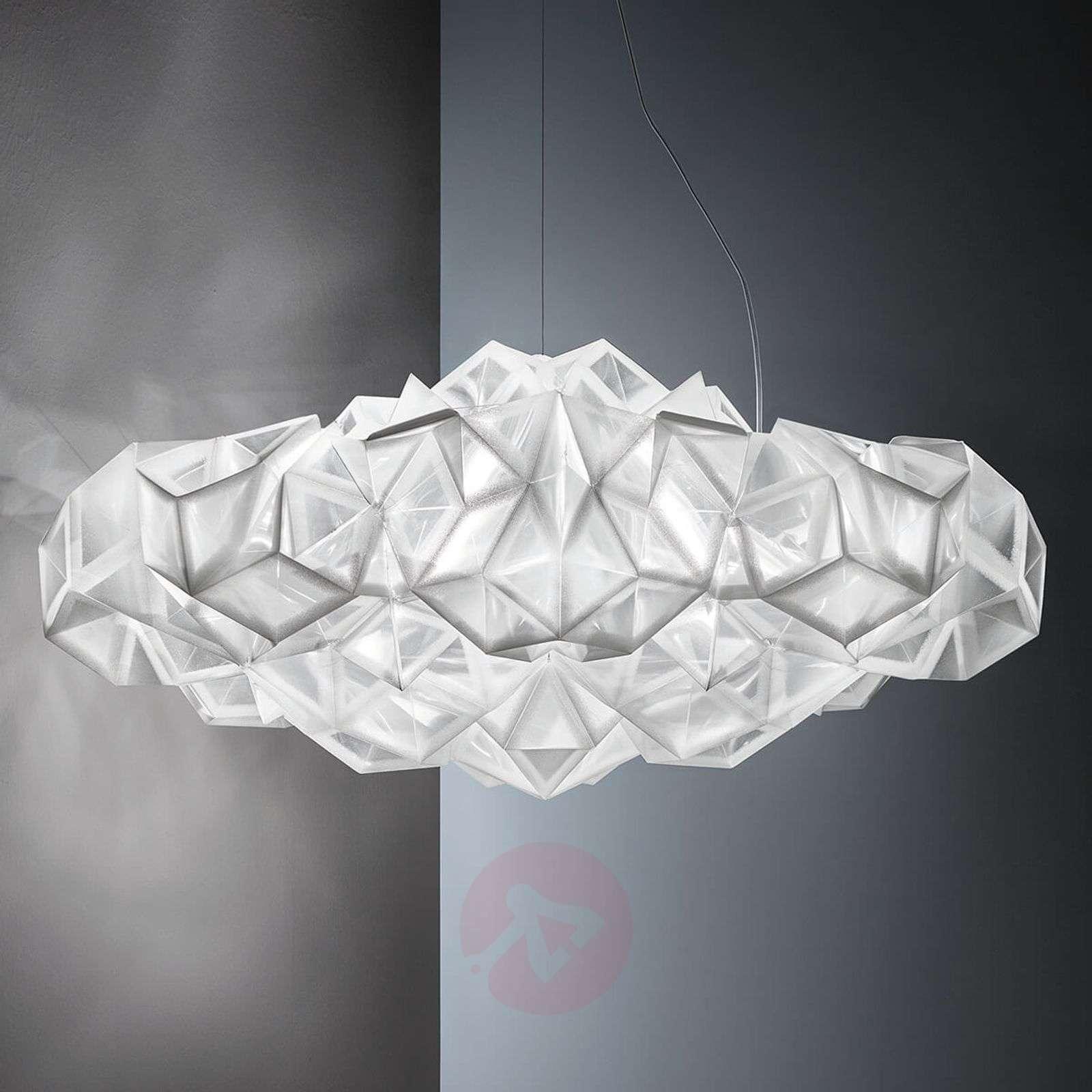 Slamp Drusa design-riippuvalaisin, valkoinen-8503324-01