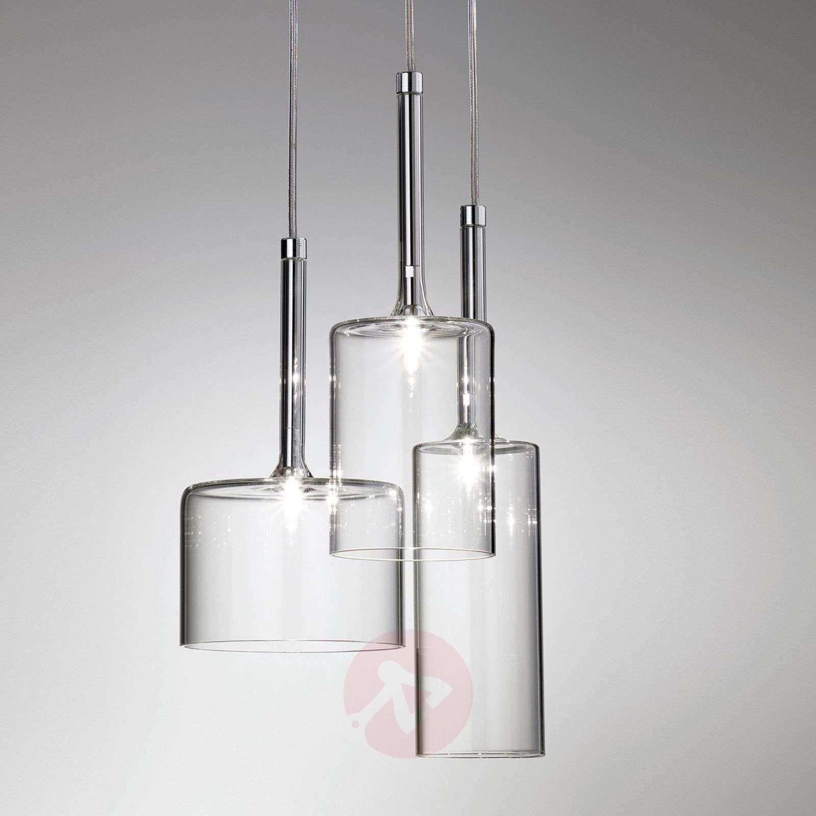 Spillray 3-osainen lasinen riippuvalaisin-1088087-01