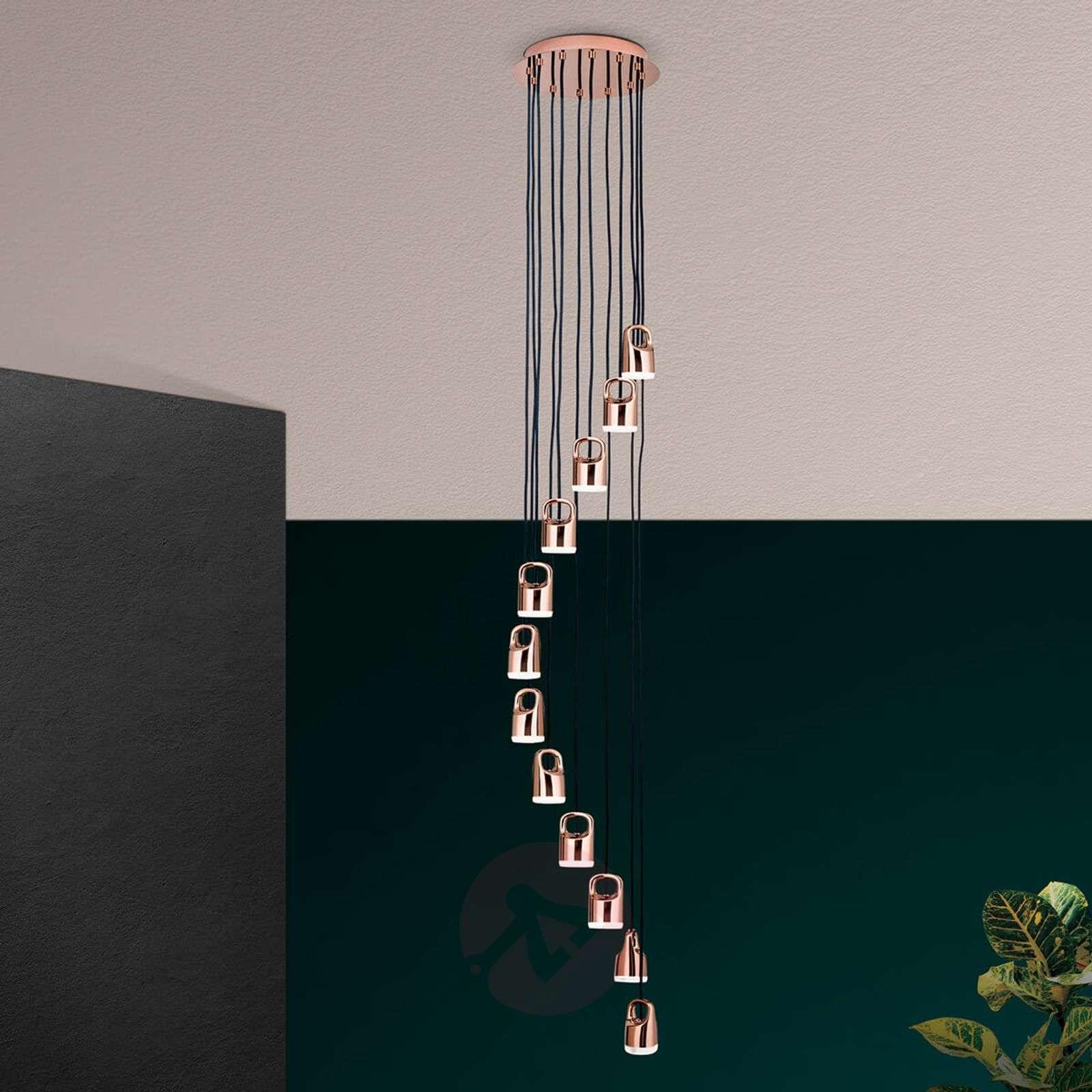 Spiraalimainen LED-riippuvalaisin Tinus-7255310-01