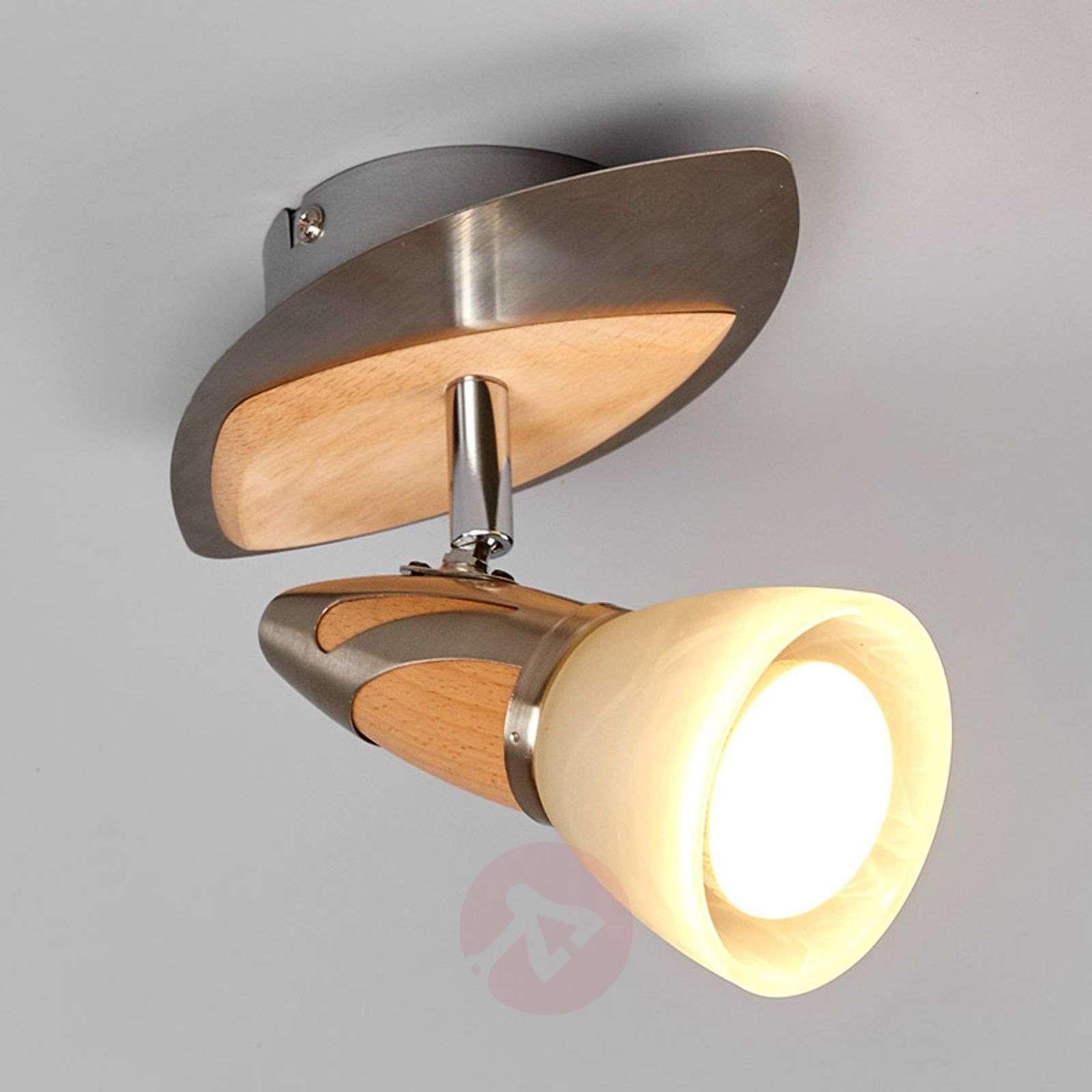 Spotti Marena, puuapplikoinnit, E14 R50 LED-9620552-01