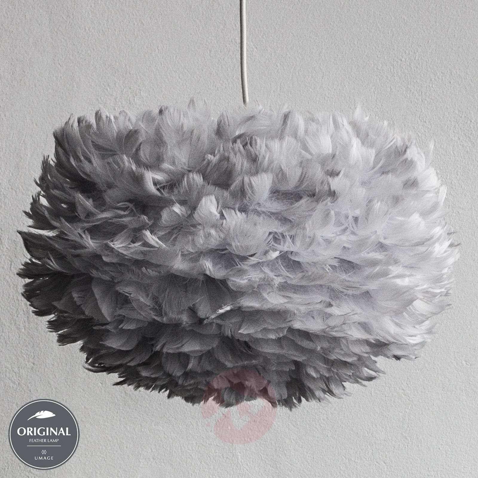 Sulkariippuvalaisin Eos medium, vaaleanharmaa-9521033-01