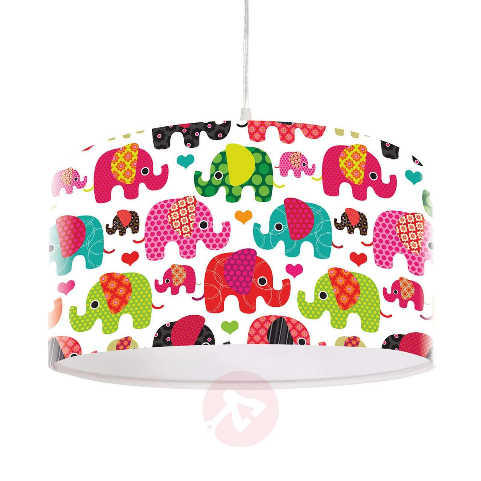 Suloinen lasten riippuvalaisin Elefantti