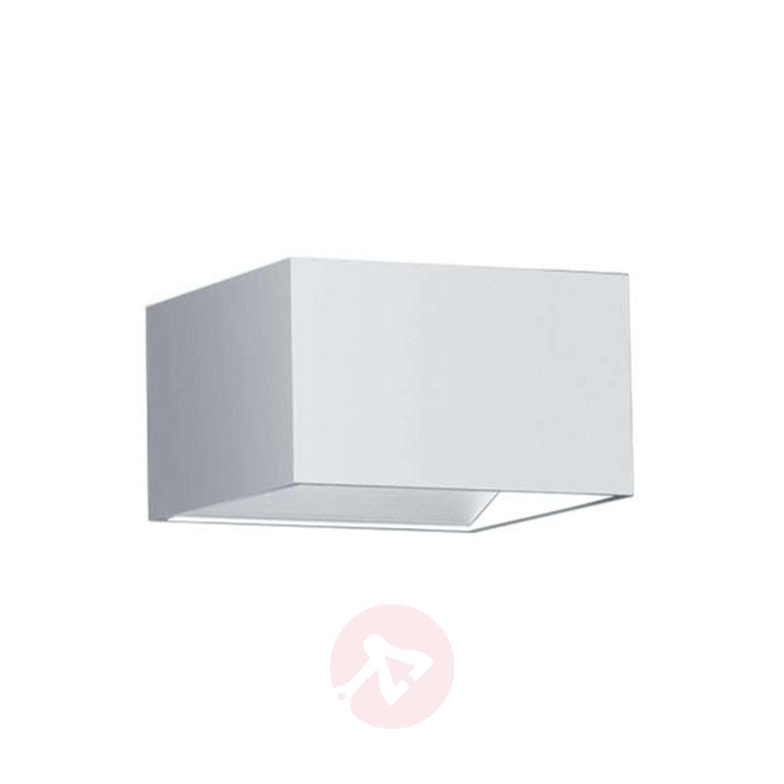 Suoraan ja epäsuor. val. LED-seinävalo Cube valk.-1554046-01