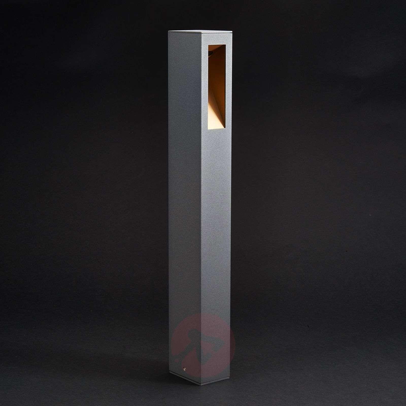 Suoralinjainen LED-pylväsvalaisin Jenke-9618013-01