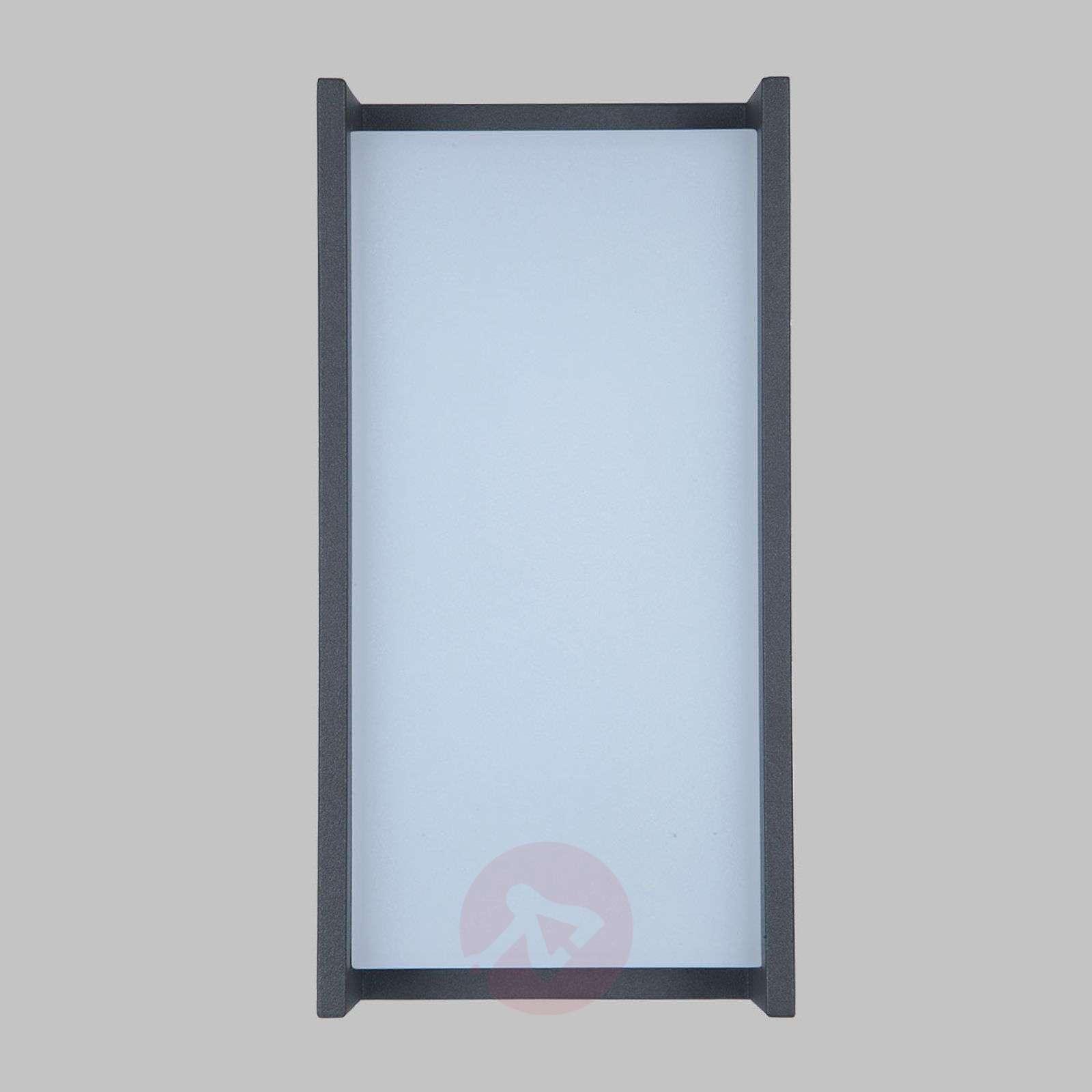 Suoralinjainen LED-ulkoseinälamppu Qubo-3006672-01