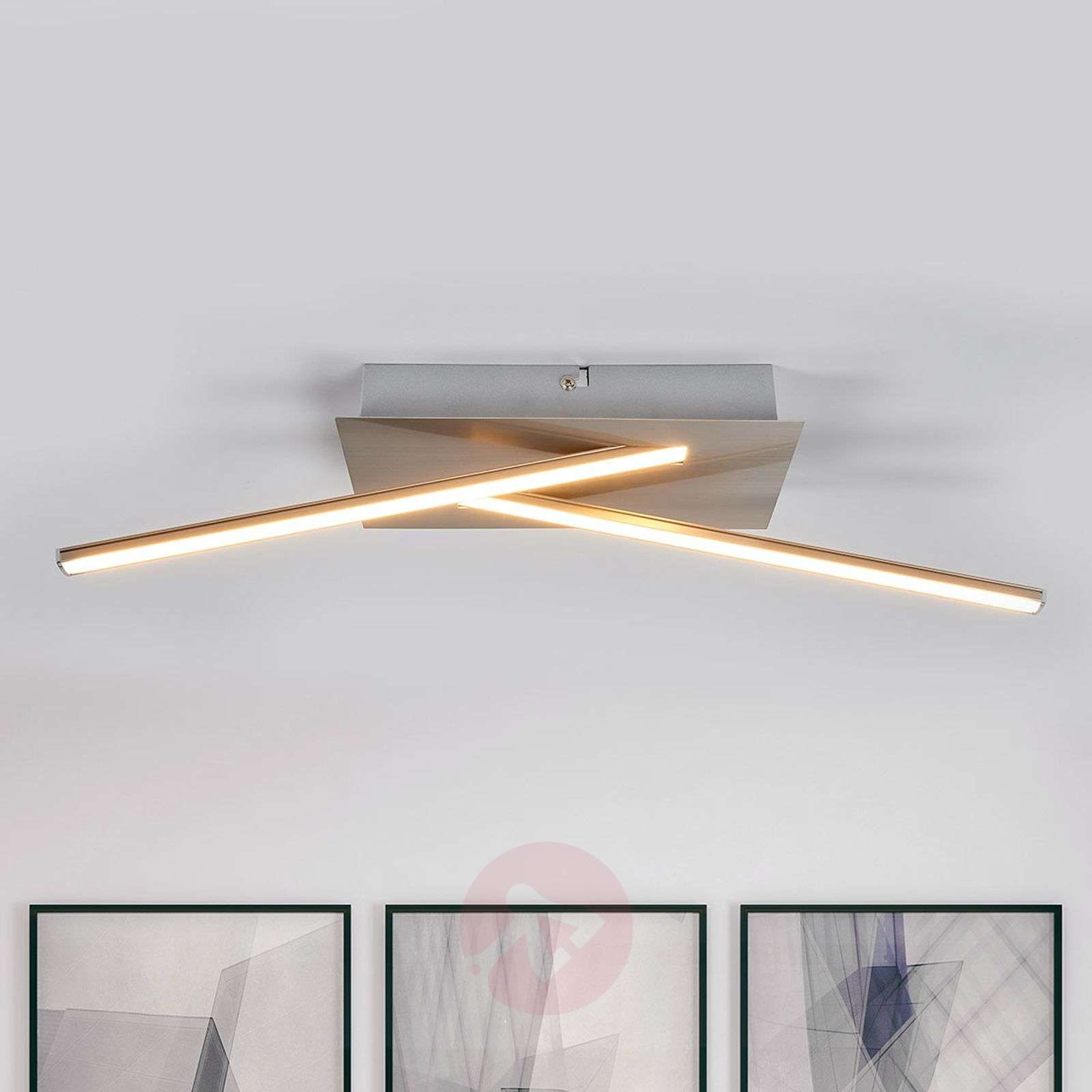 Suoralinjainen Lenhard-LED-kattovalaisin-9985062-04