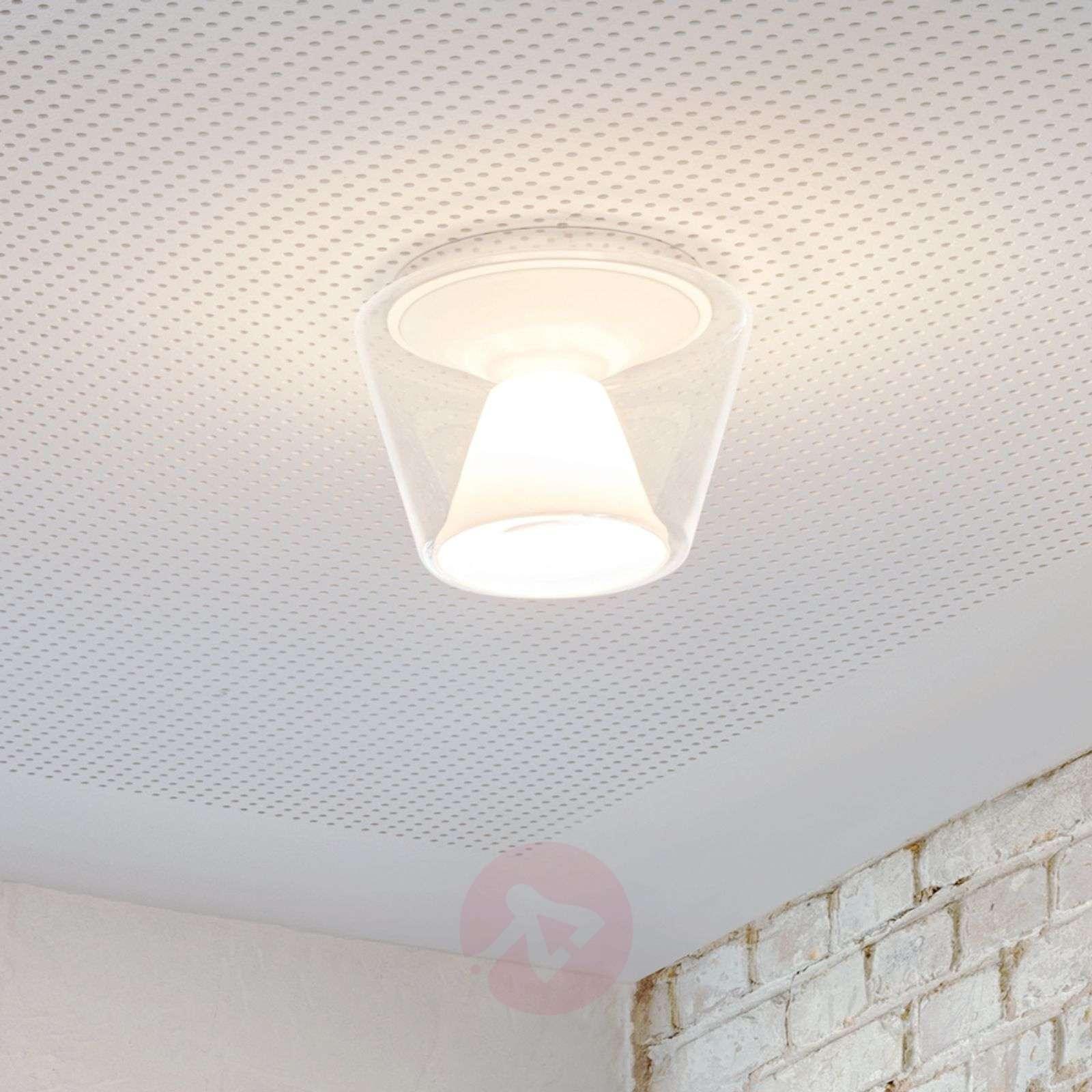 Suupuhallettu LED-design-kattovalaisin Annex-8550011-01