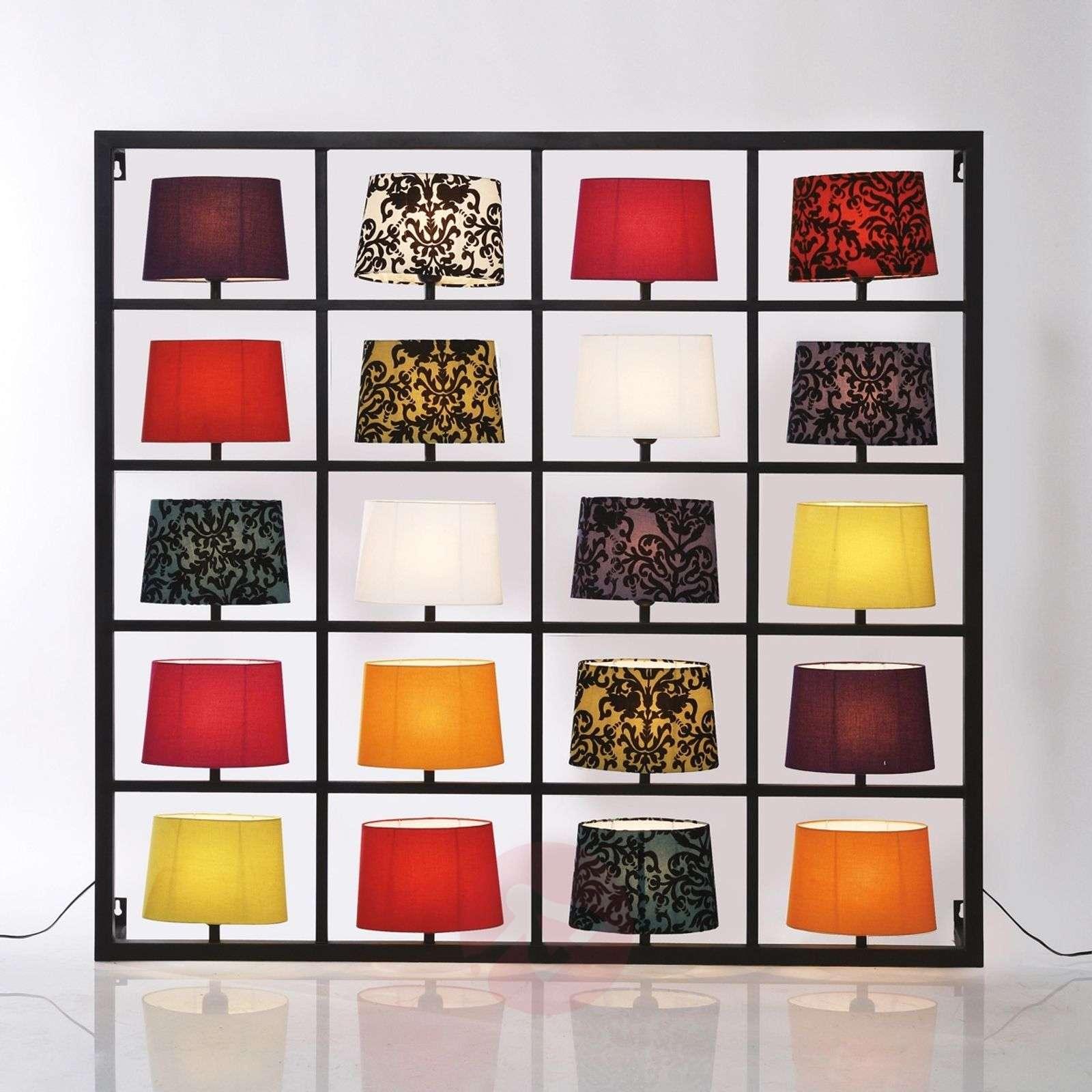 Suuri 20-lamppuinen PARECCHI-seinävalaisin, musta-5517005-01