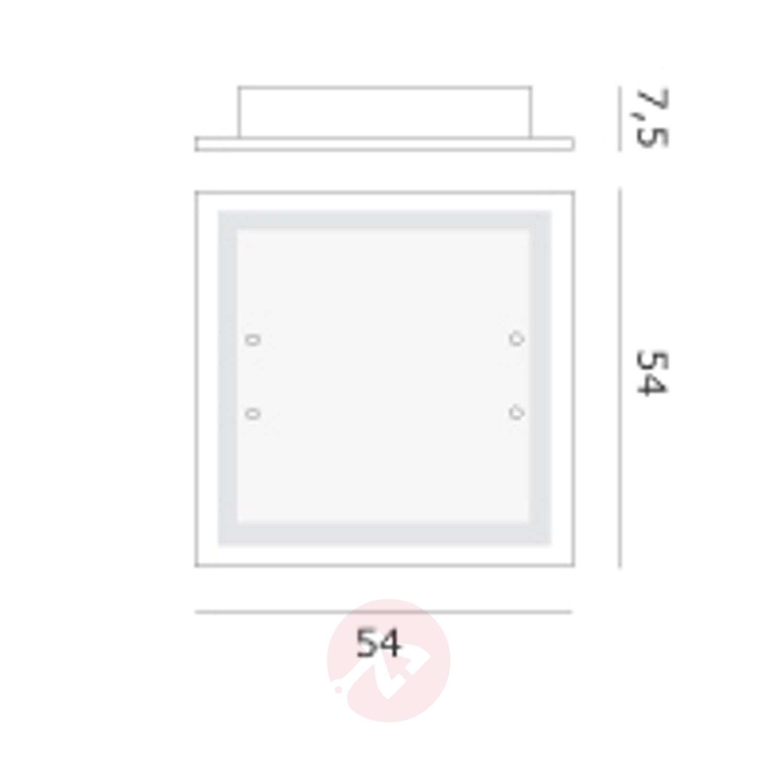 Suuri design-seinä tai kattovalaisin Quadra-2502325-01