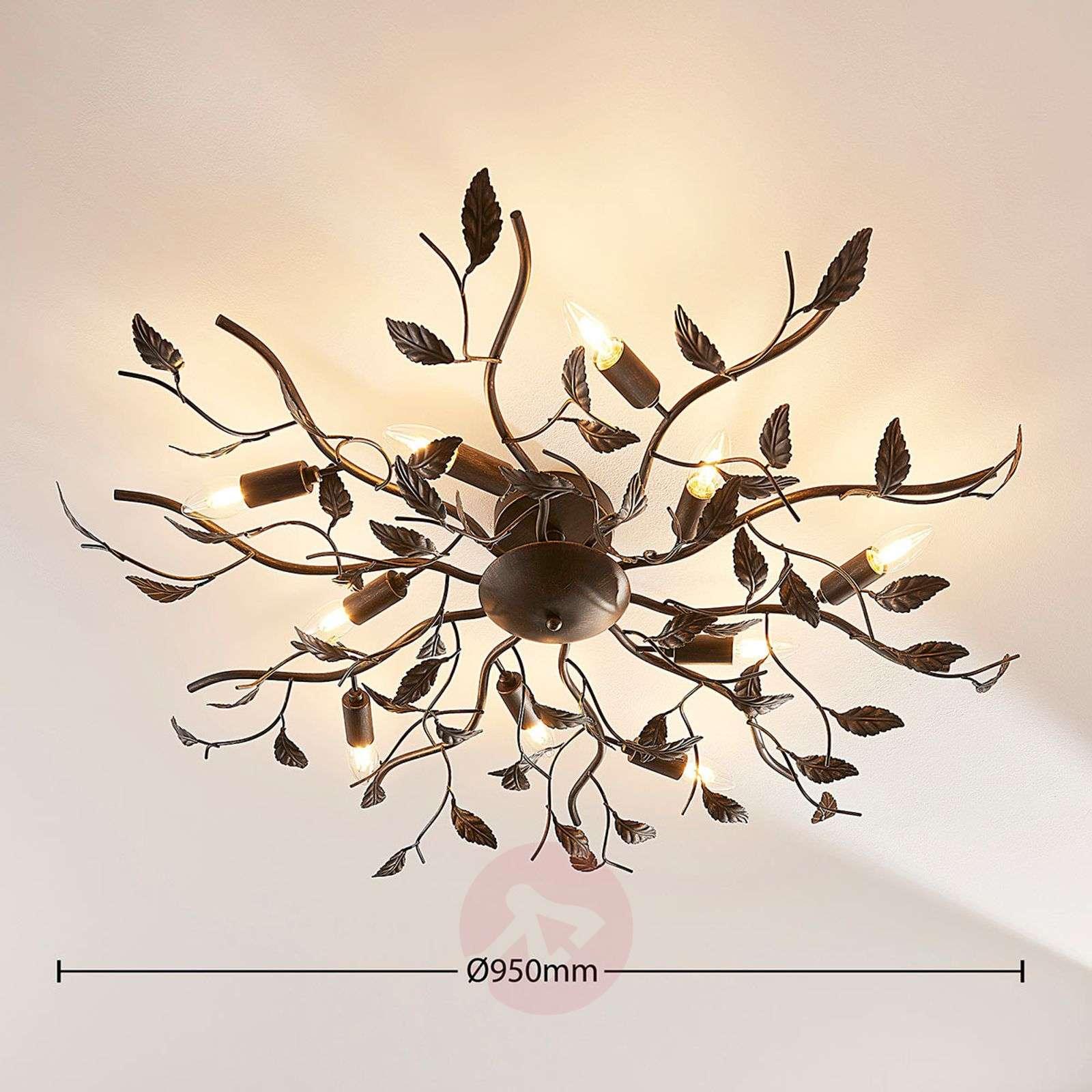 Suuri LED-kattovalaisin Yos, lehtiaihe-9624049-01