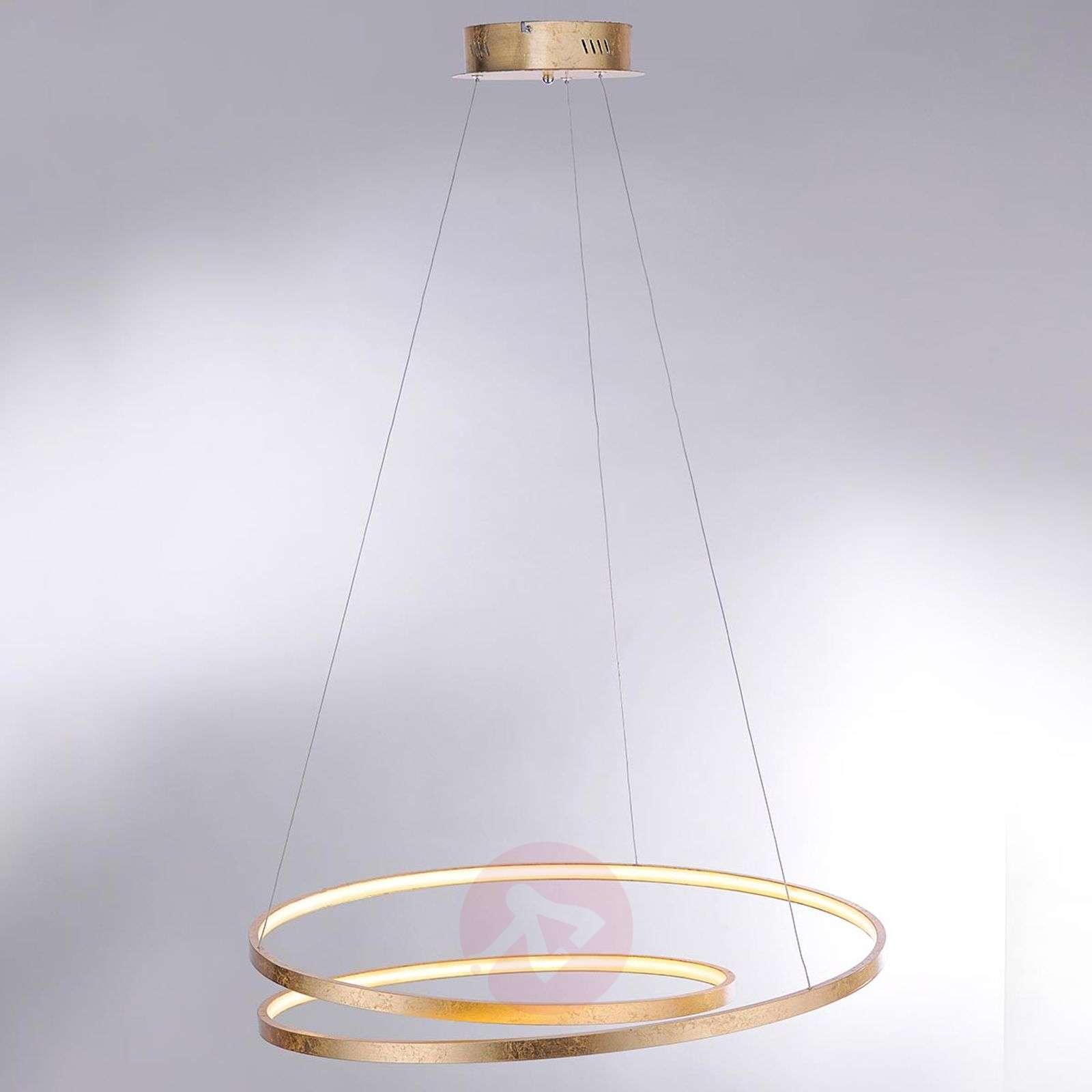 Suuri LED-riippuvalaisin Roman, himmennystoiminto-7610636-01