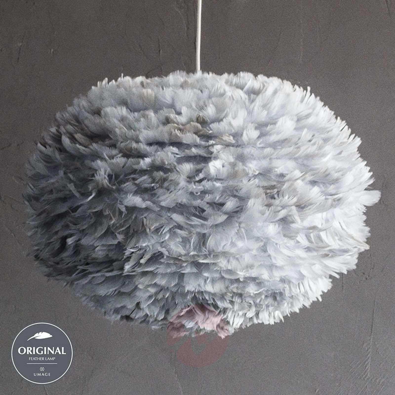 Suuri riippuvalaisin Eos, vaaleanharmaa varjostin-9521039-01