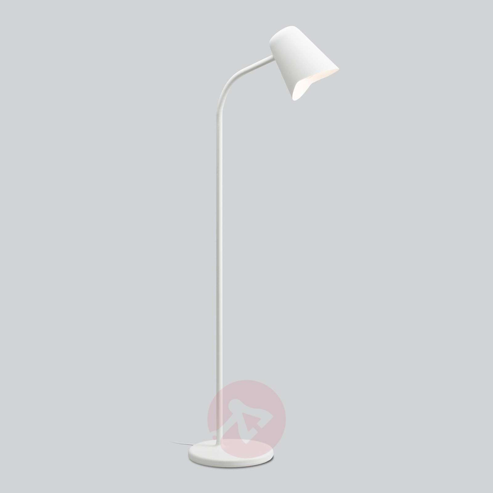 Taivutettava valkoinen lattiavalaisin Me-7013067-01