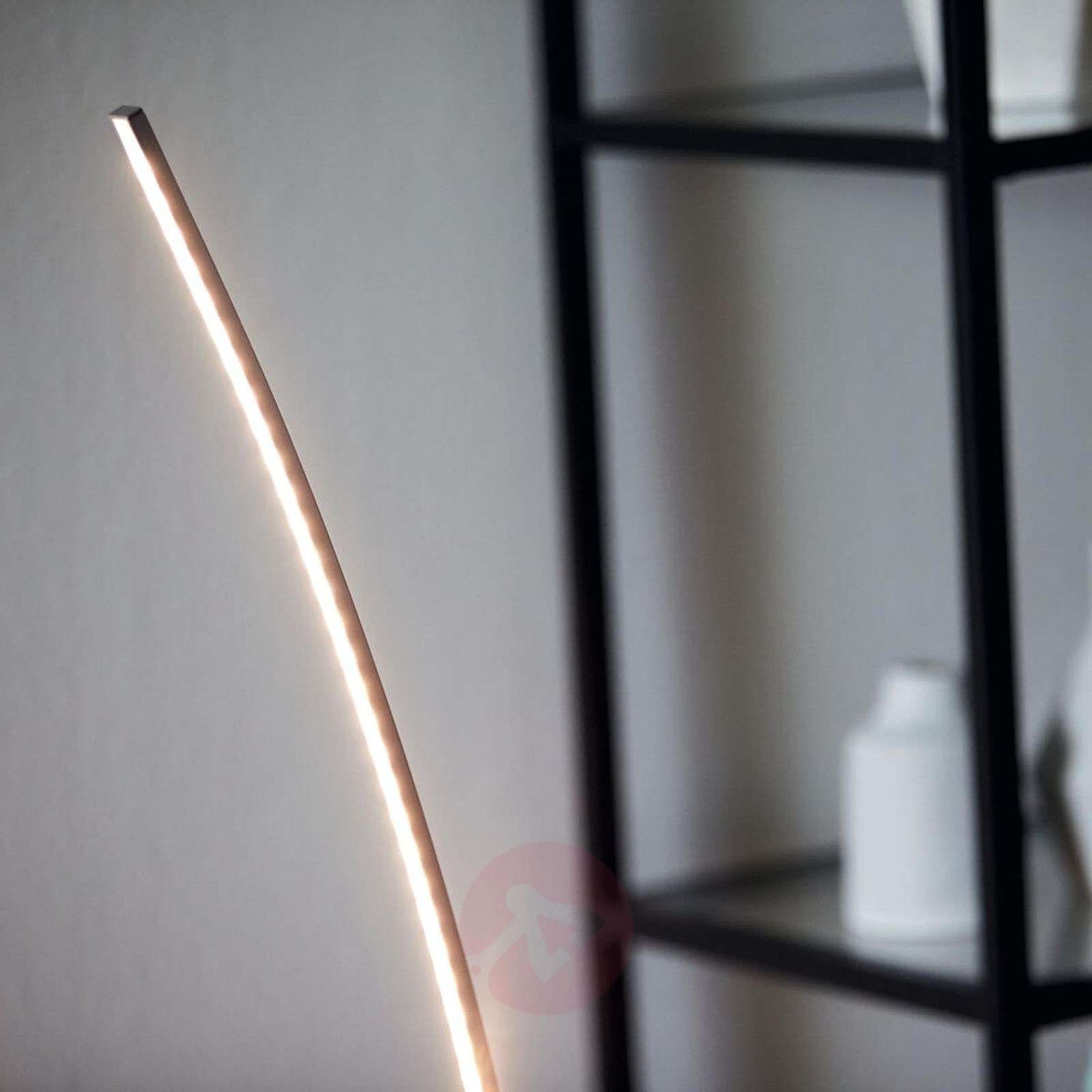Taivutettu LED-lattiavalaisin Hexagon-7531979-01