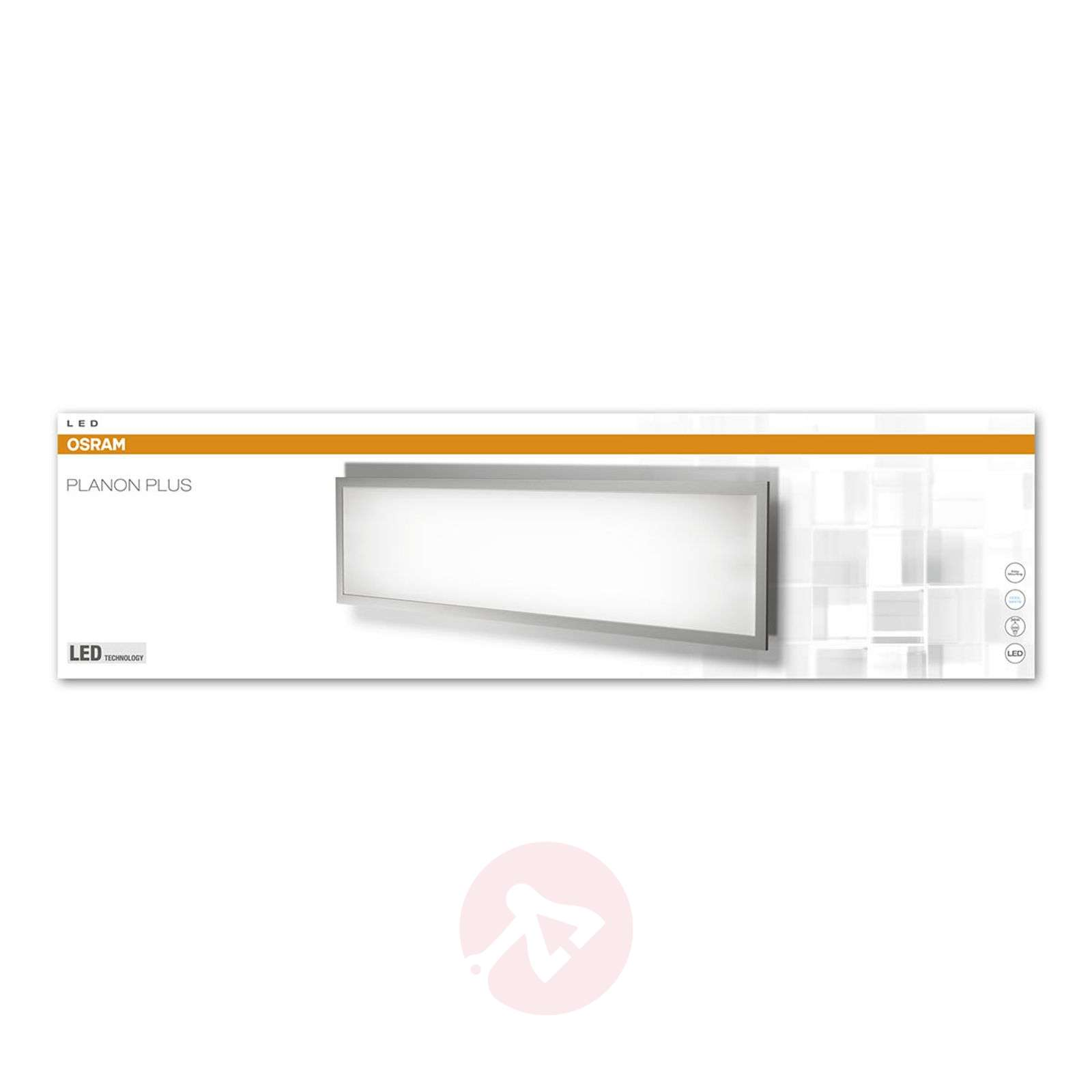 Tehokas LED-paneeli Planon Plus-7261230-01