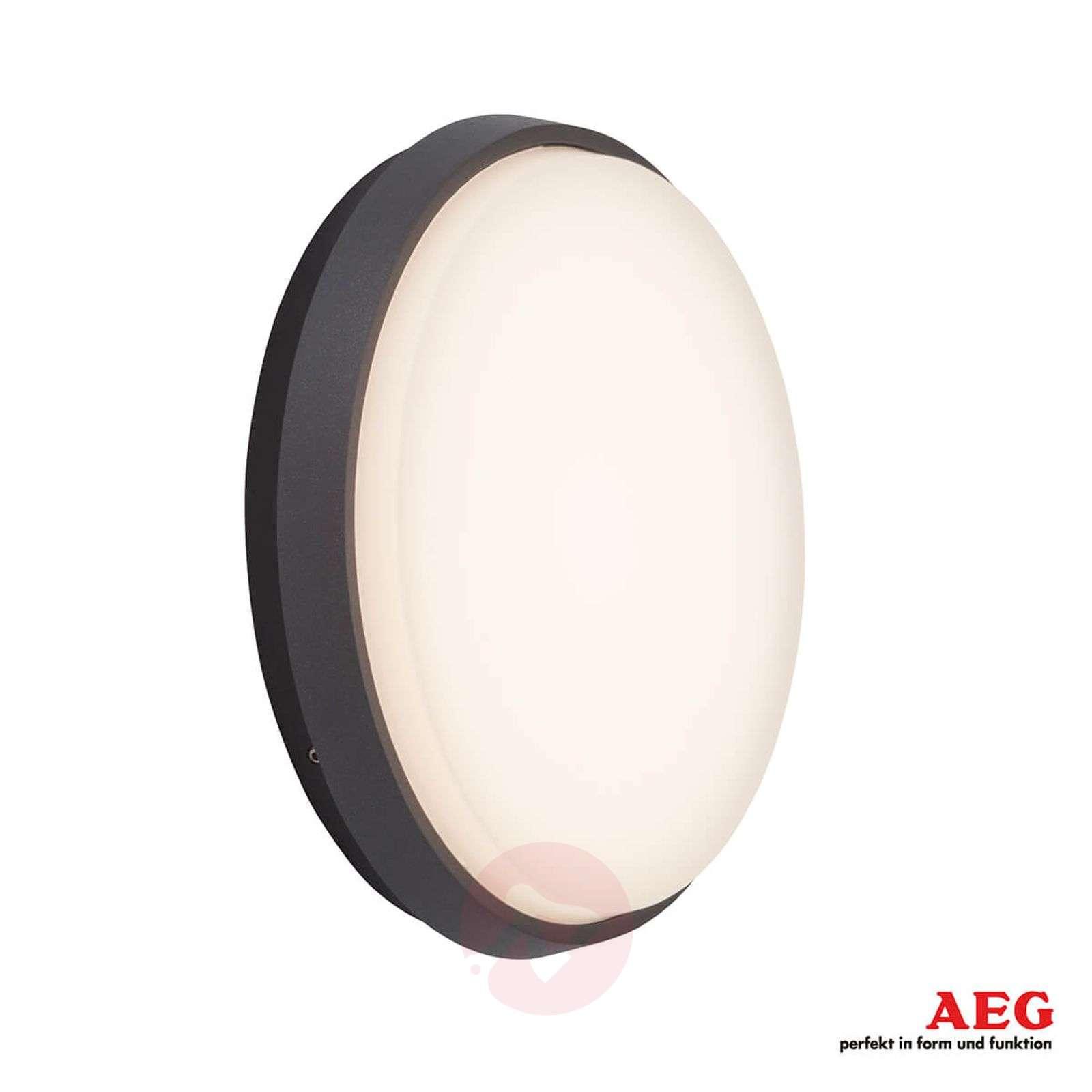 Tehokas LED-ulkoseinälamppu Letan Round-3057120-01